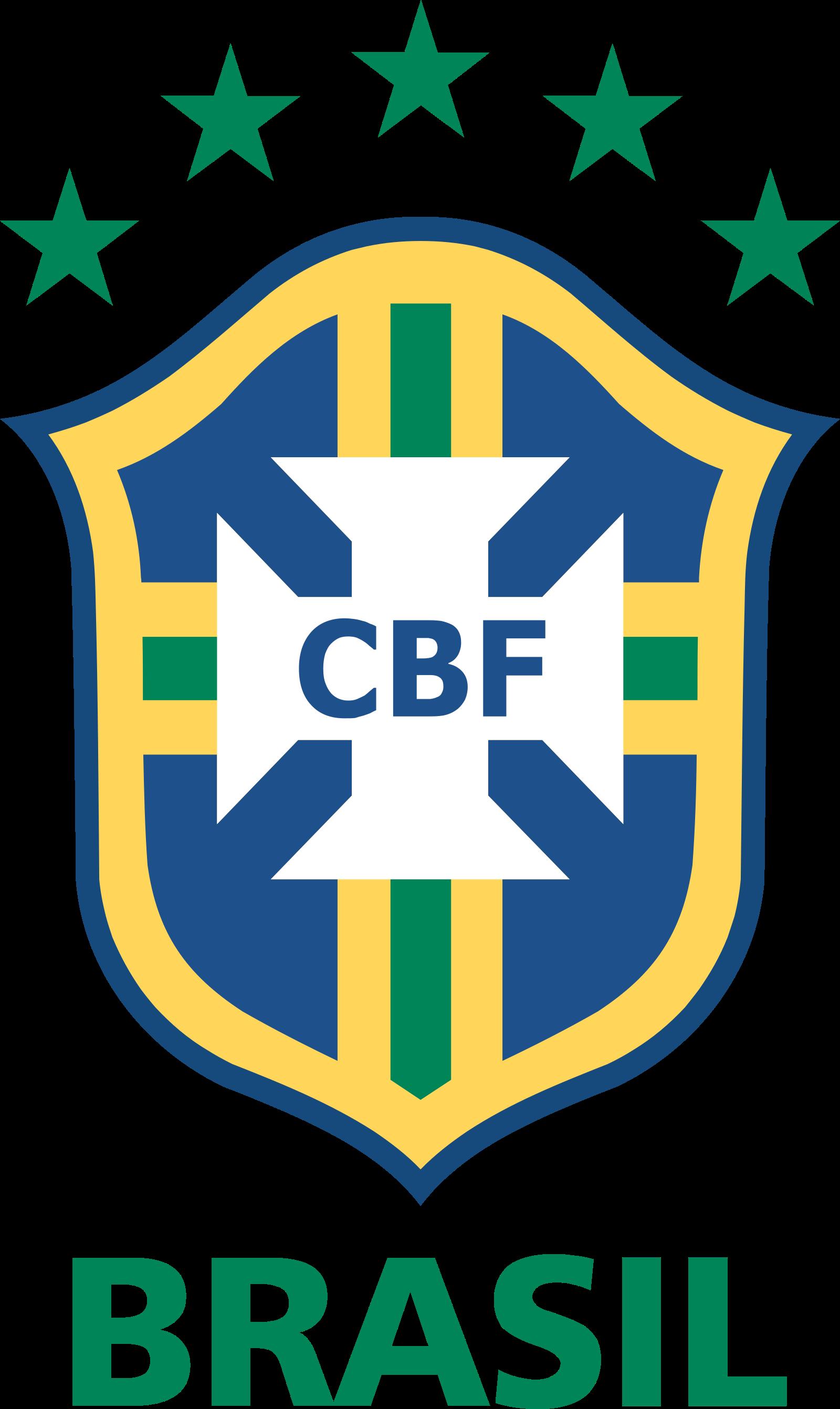 CBF Logo, Confederação Brasileira de Futebol .