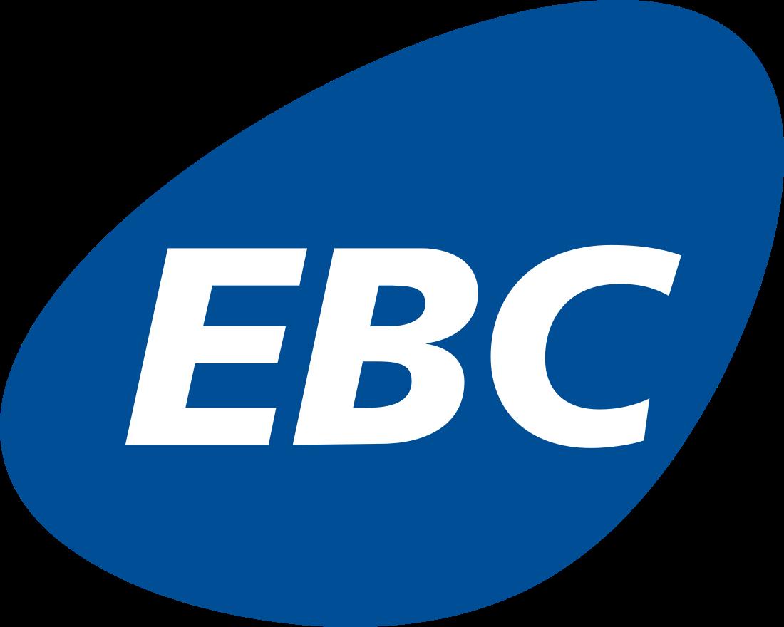 EBC logo.