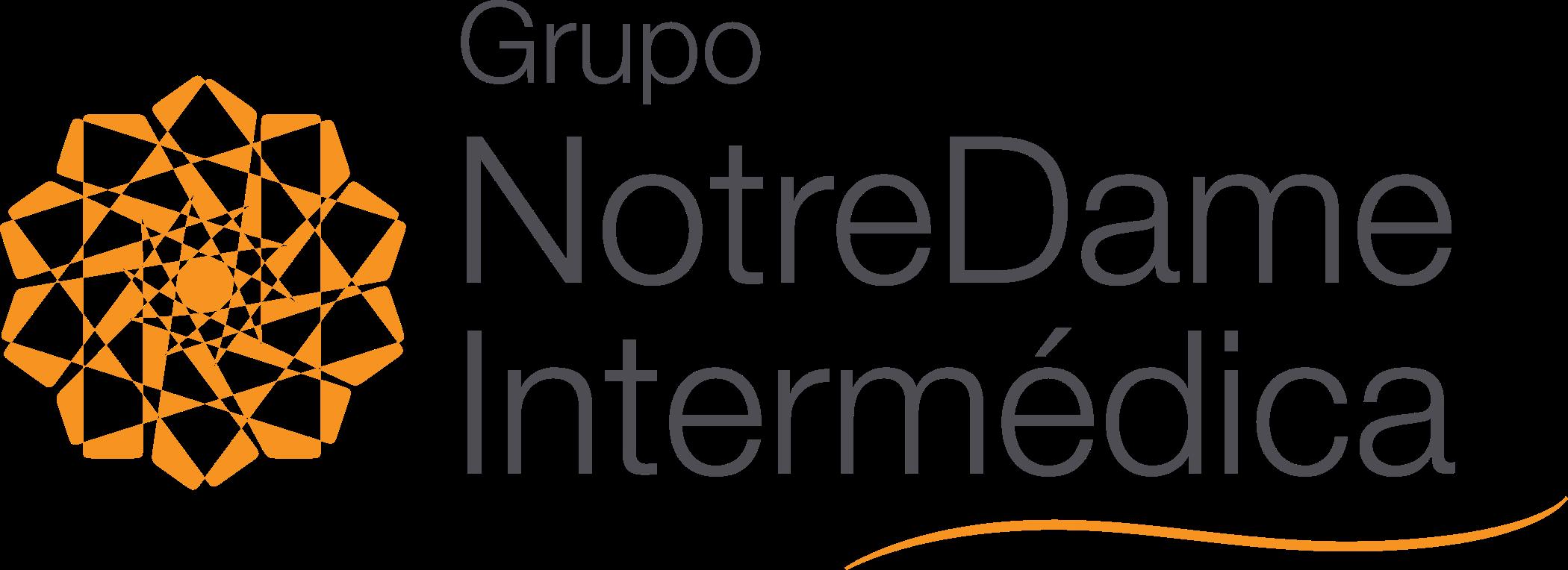 Grupo NotreDame Intermédica Logo.