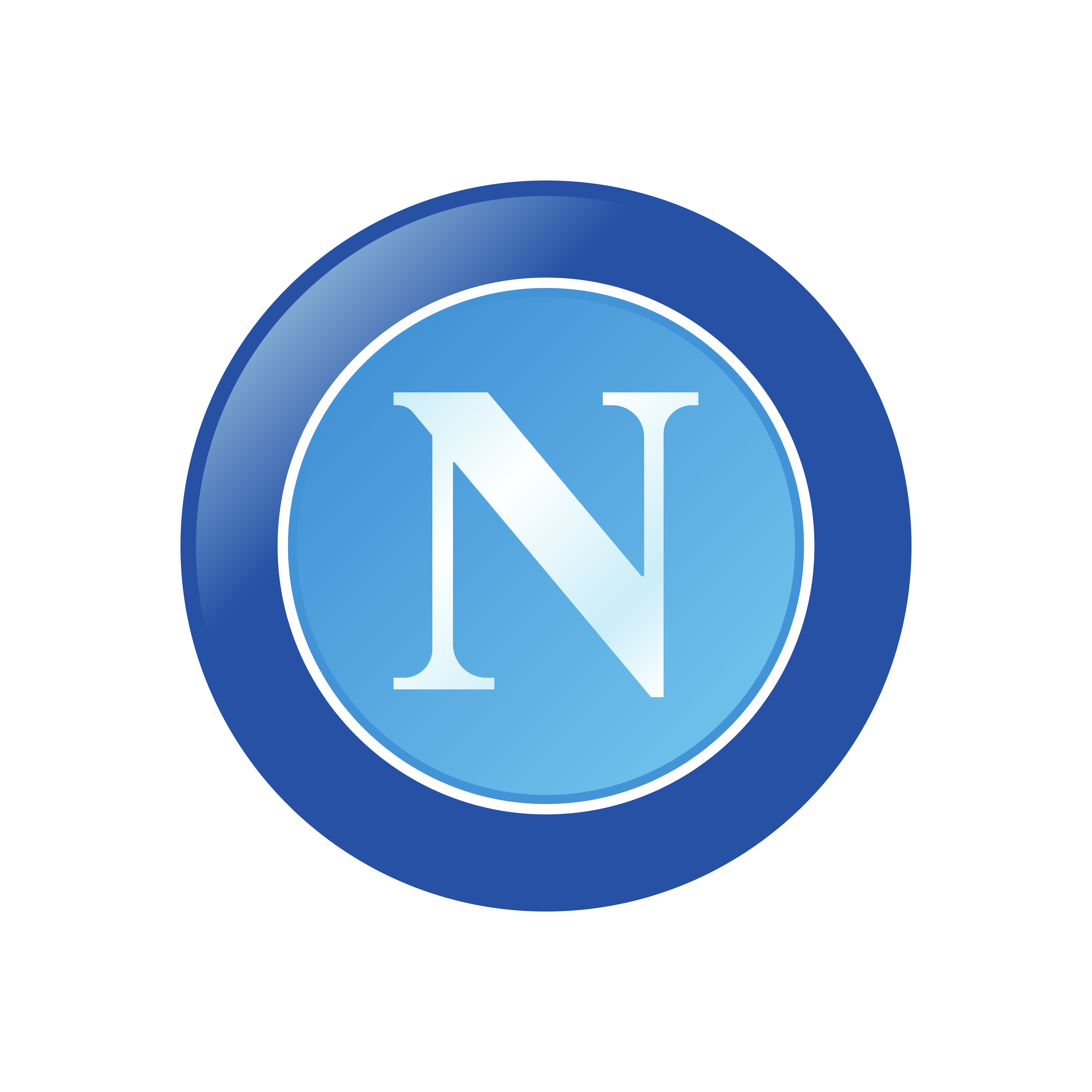 napoli logo 0 - Napoli Logo - Escudo