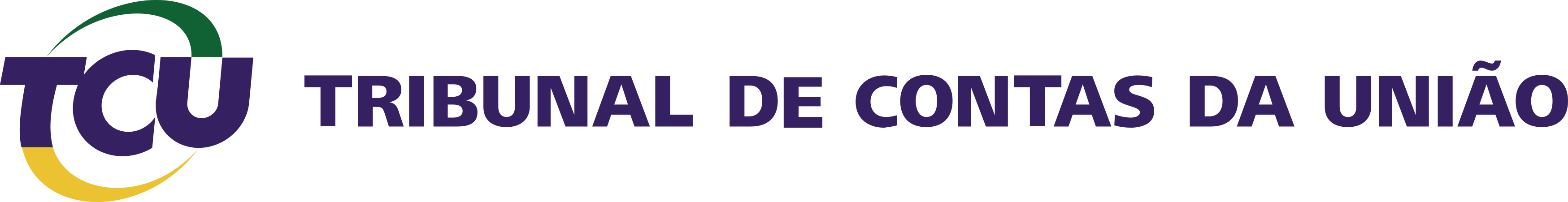 Tribunal de Contas da União , TCU Logo.