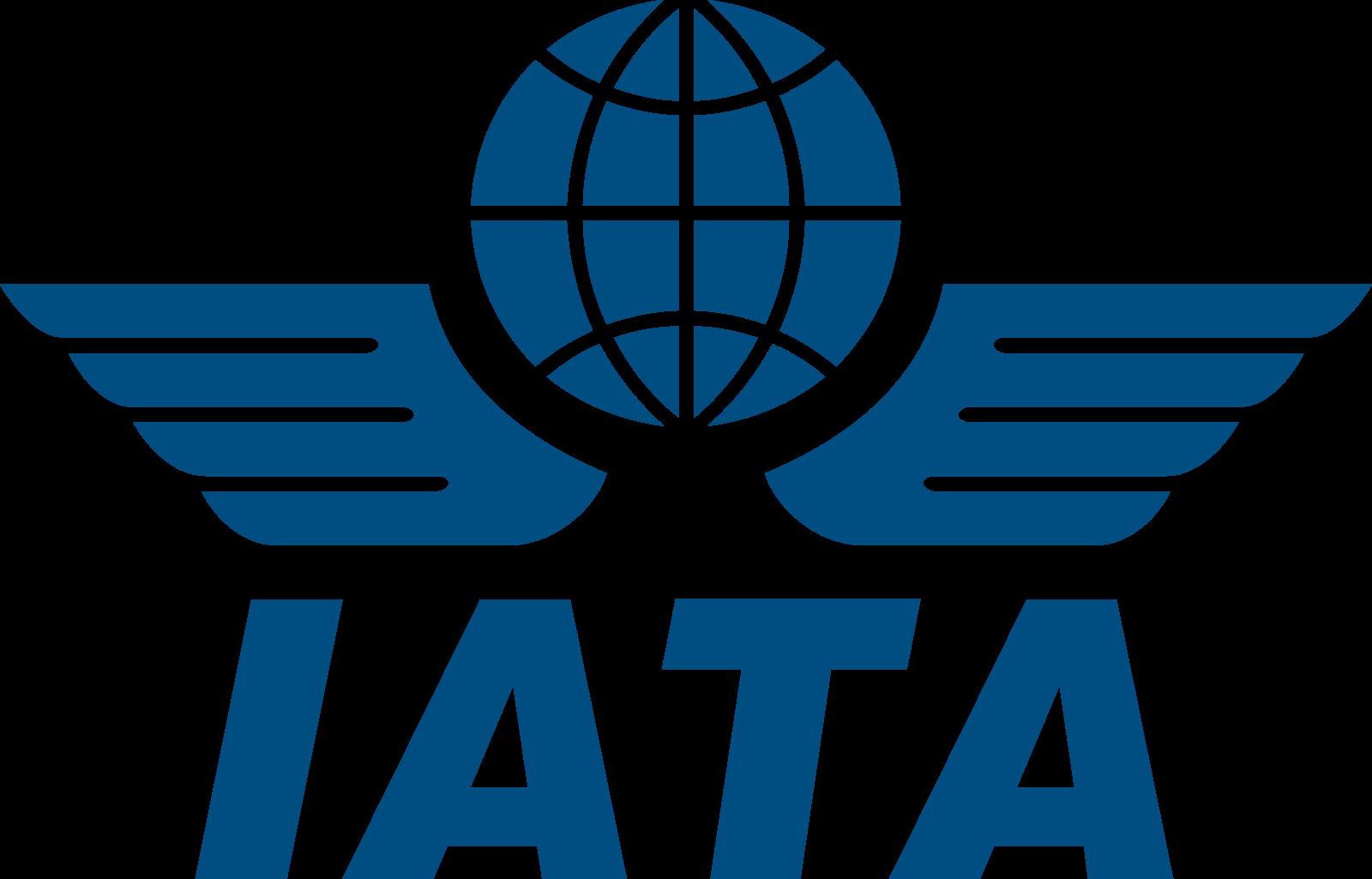 iata logo 2 - IATA Logo - Associação Internacional de Transportes Aéreos Logo
