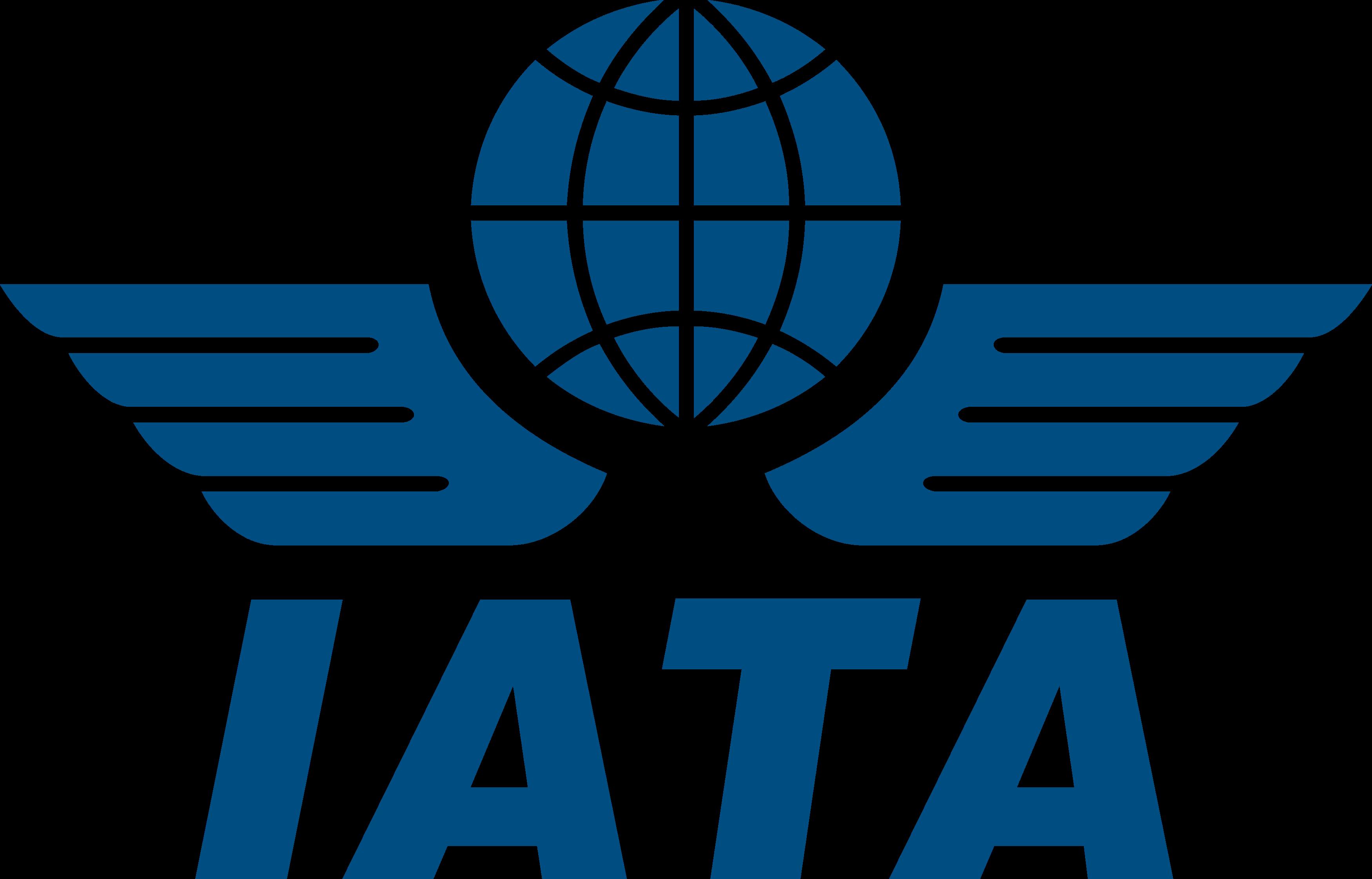 iata logo - IATA Logo - Associação Internacional de Transportes Aéreos Logo