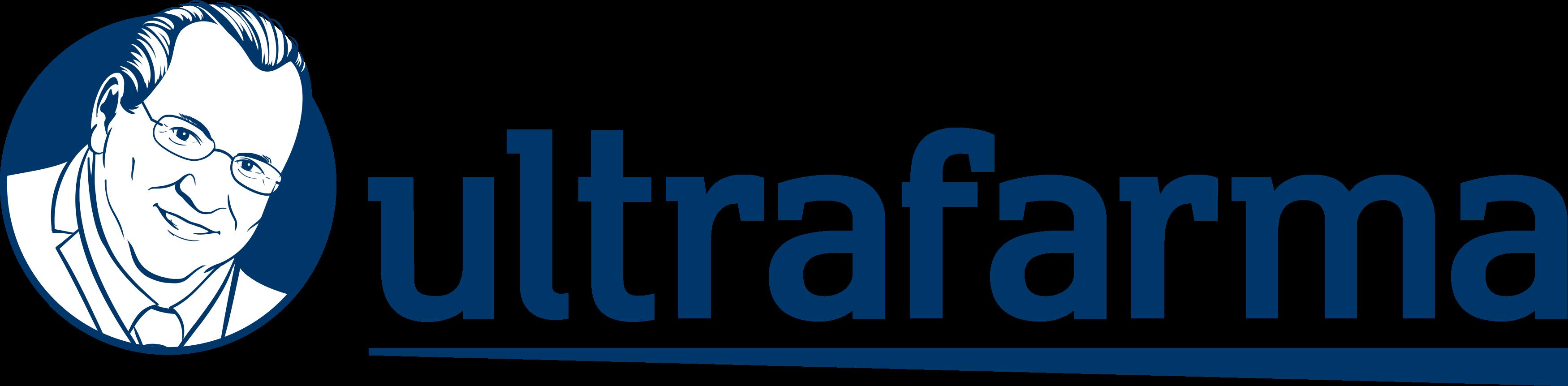 Ultrafarma logo.
