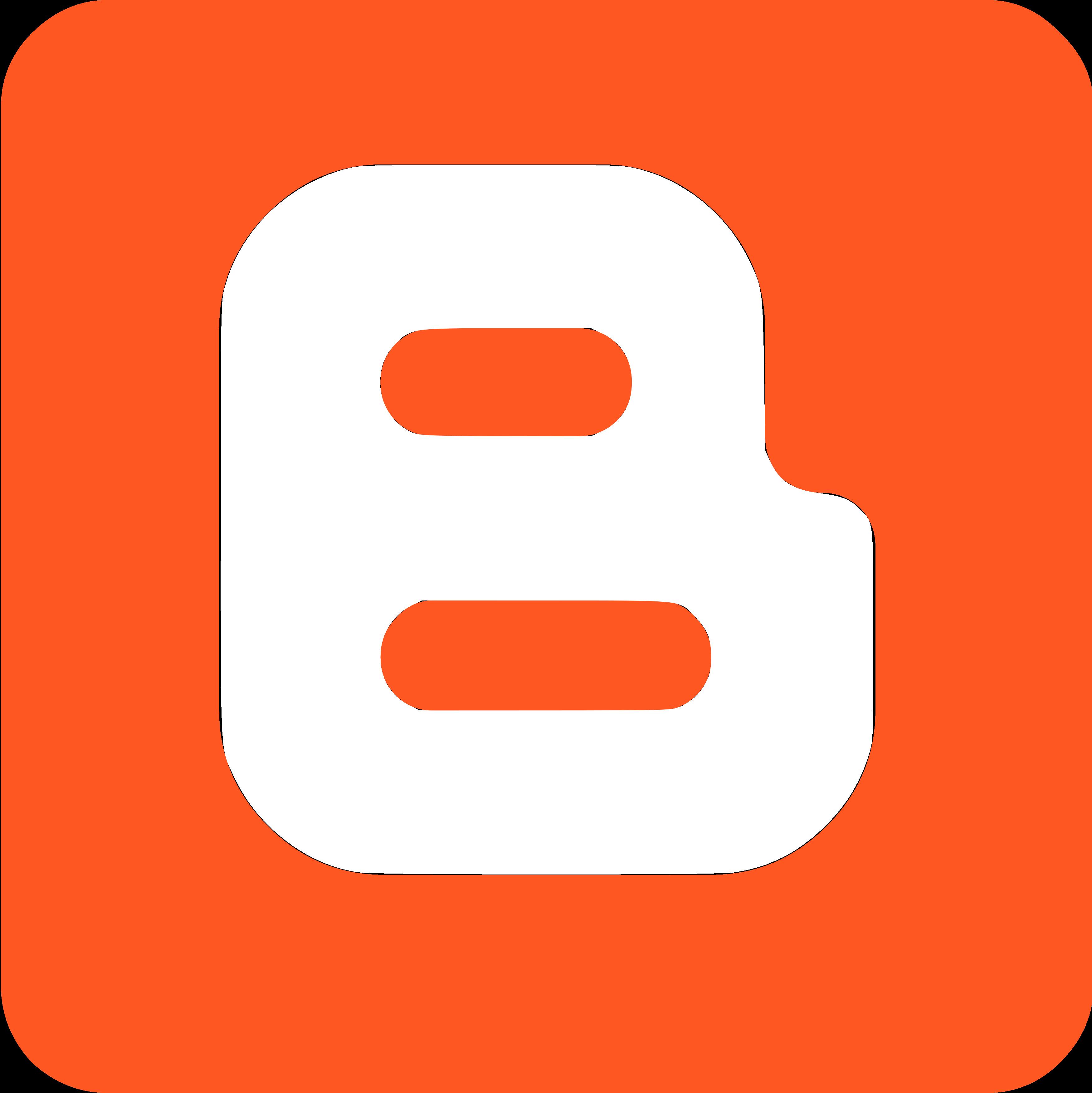 blogger logo icon 8 - Blogger Logo
