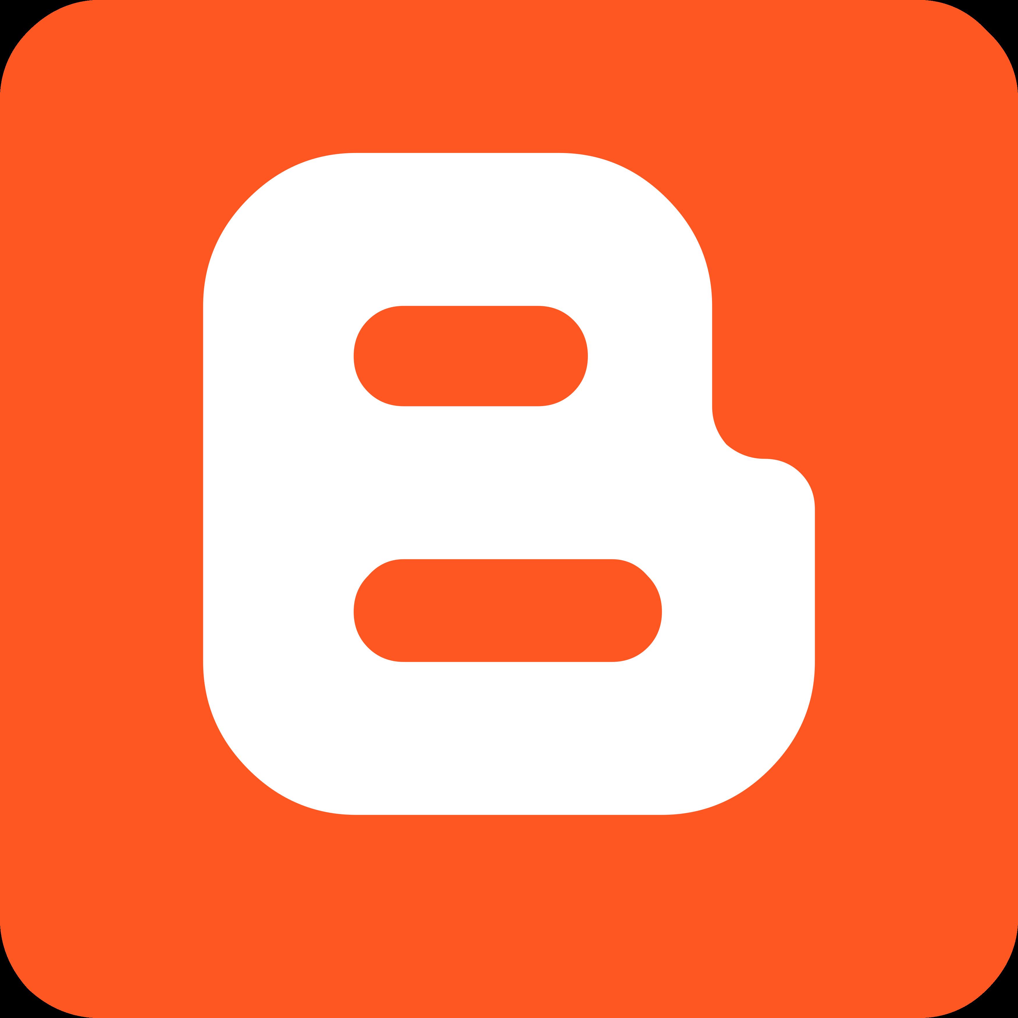 Blogger Logo, icon.