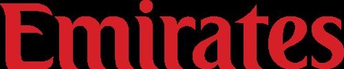 Emirates logo.
