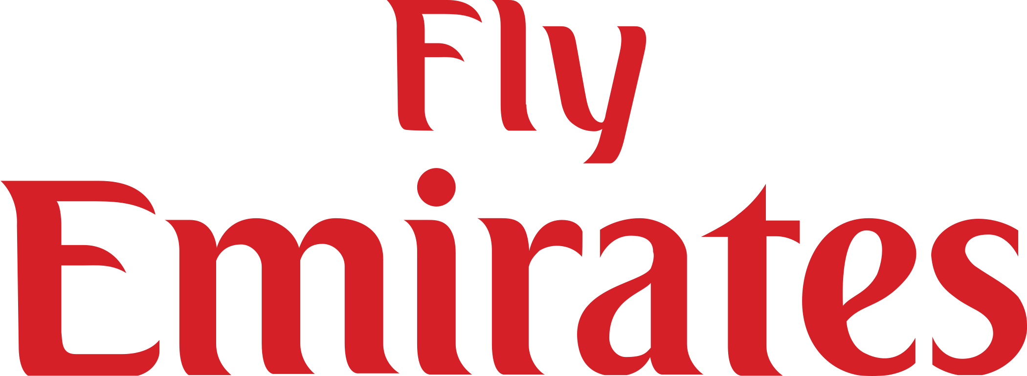 fly emirates logo 2 - Fly Emirates Logo