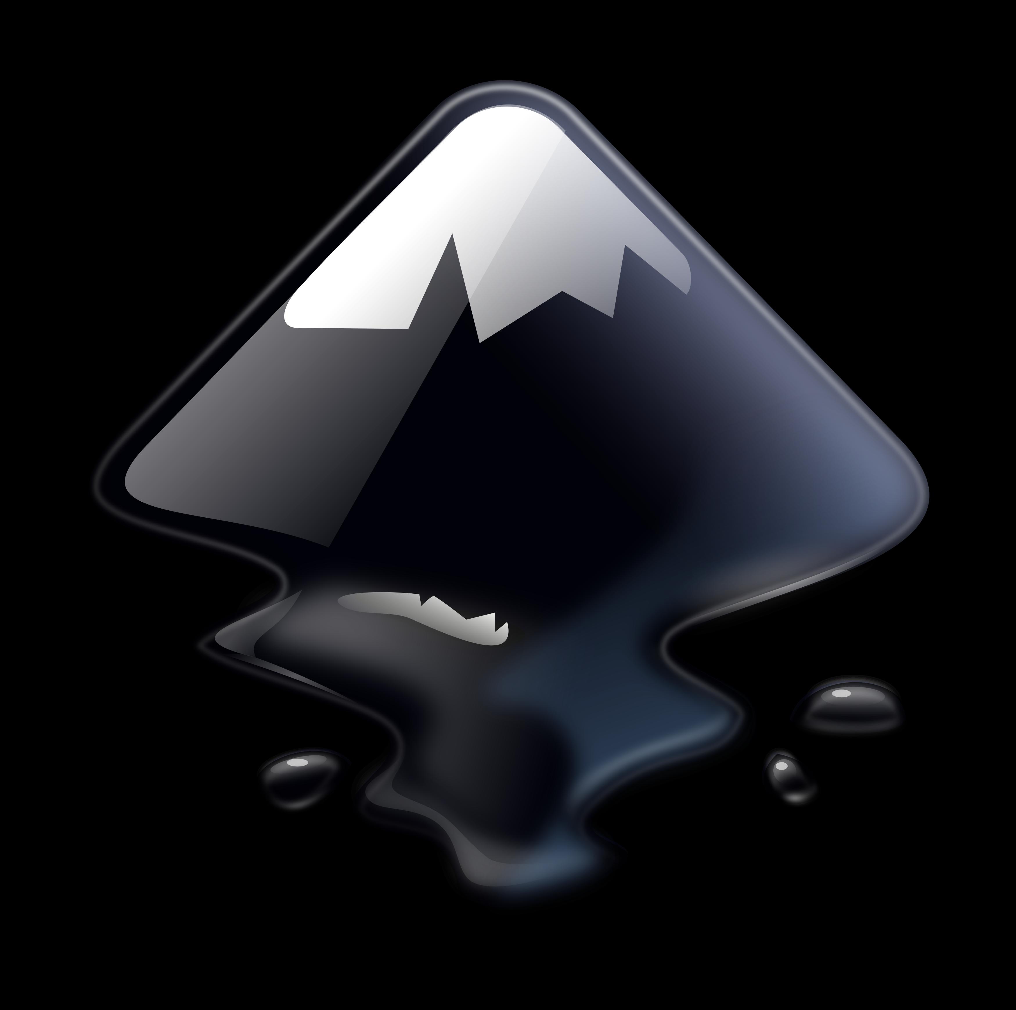 Inkscape logo.