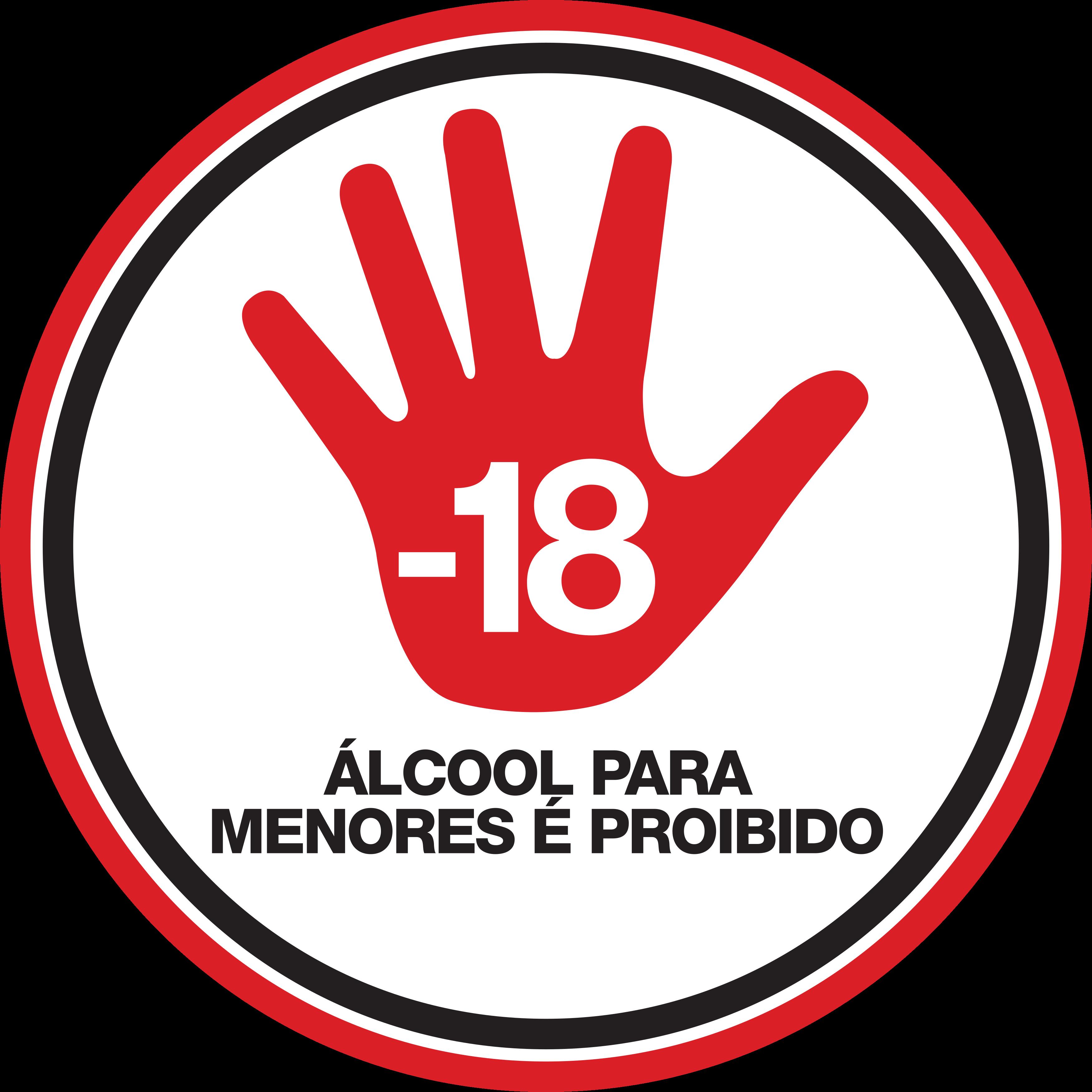 Selo Proibido Para Menores de 18 anos Logo