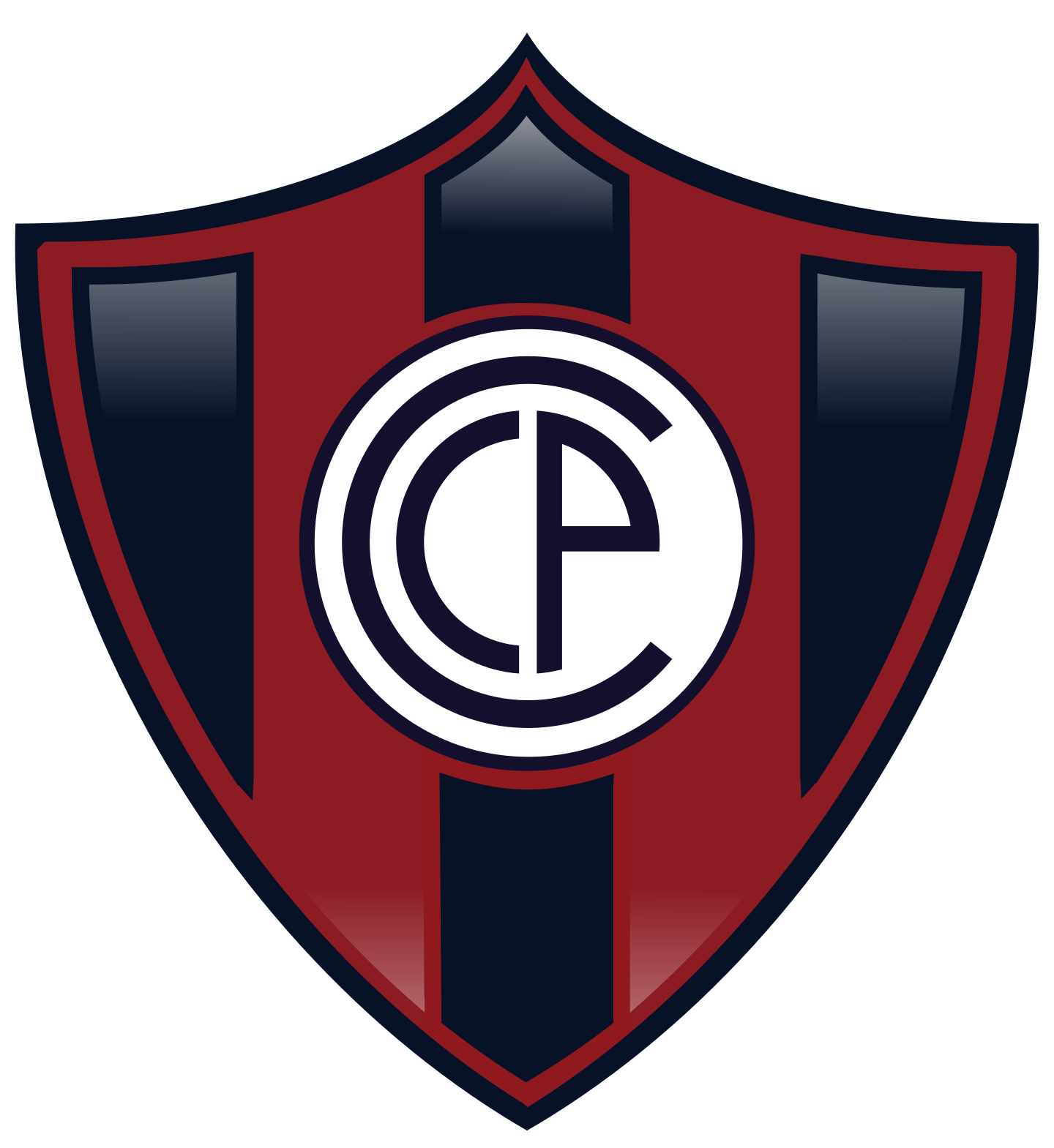 cerro porteno logo 2 1 - Cerro Porteño Logo - Escudo