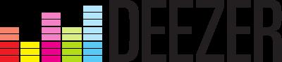 Deezer logo.