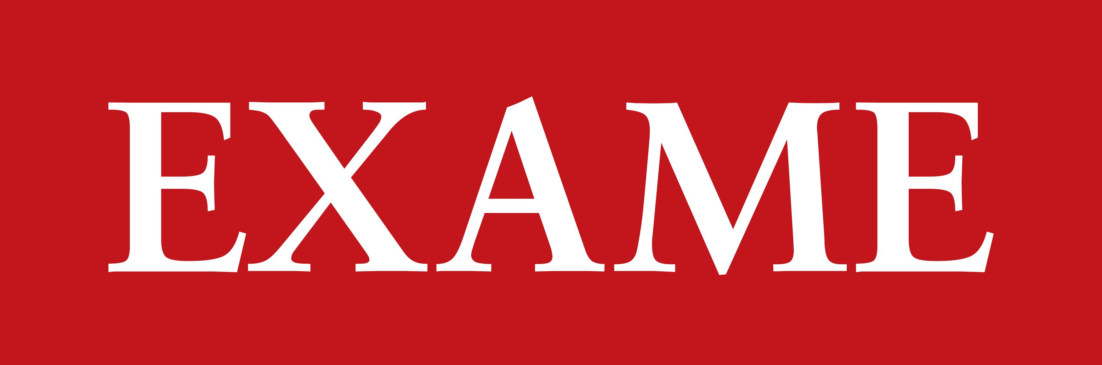 exame logo 1 - EXAME Logo (Revista)