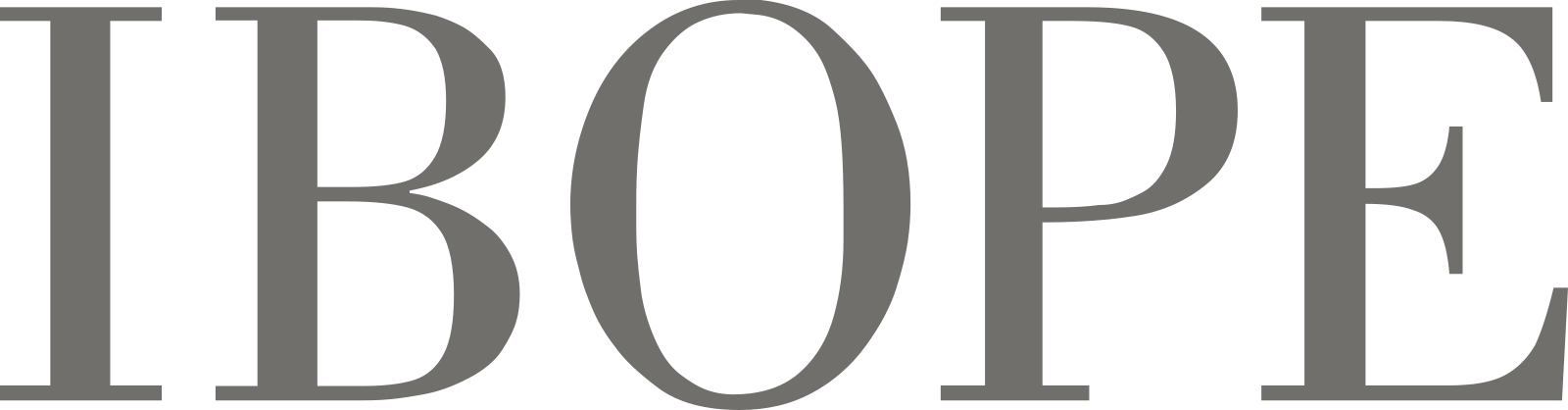 IBOPE logo.