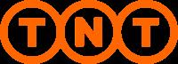 TNT express logo.