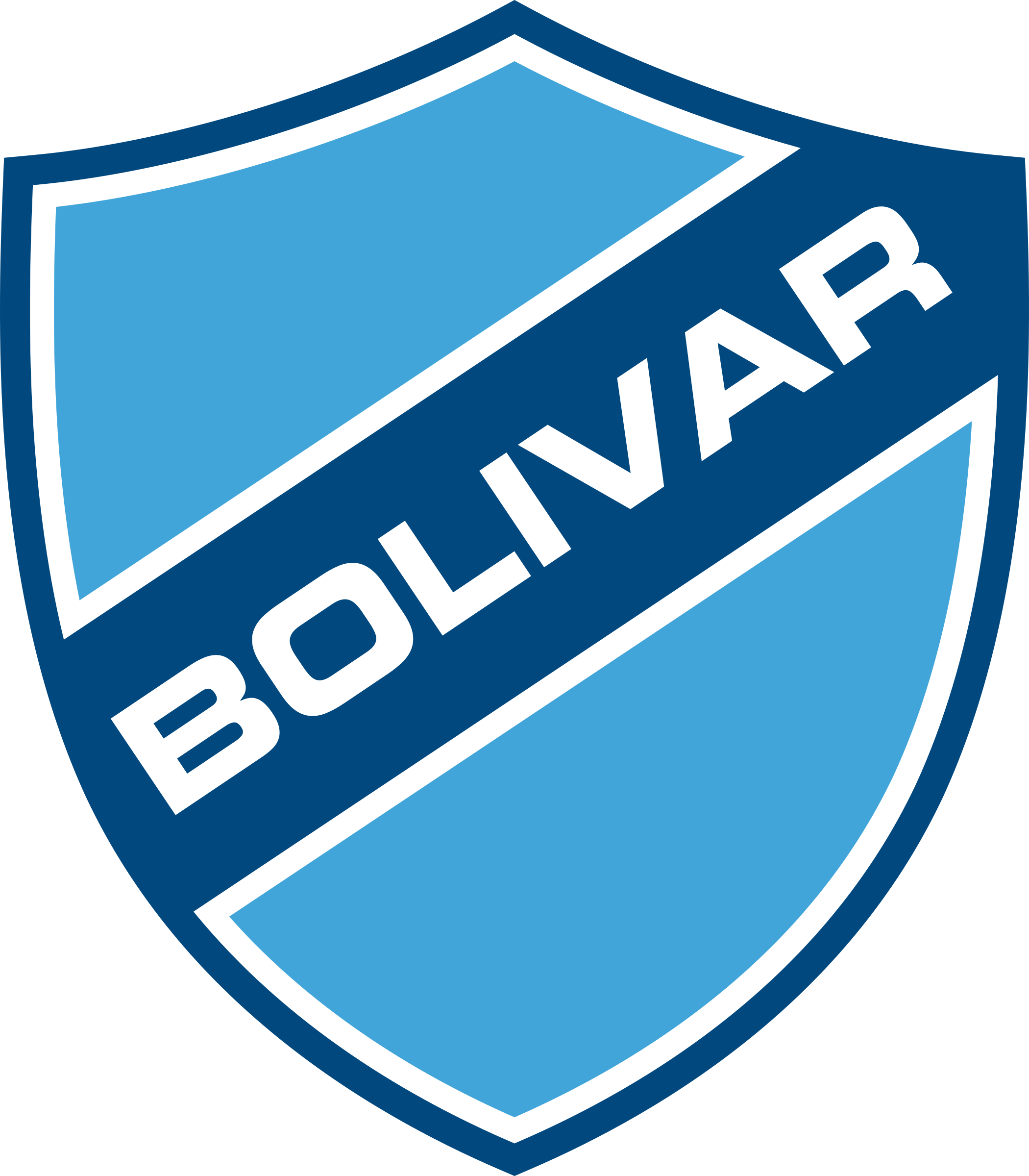 club bolívar logo 1 - Club Bolívar Logo - Escudo