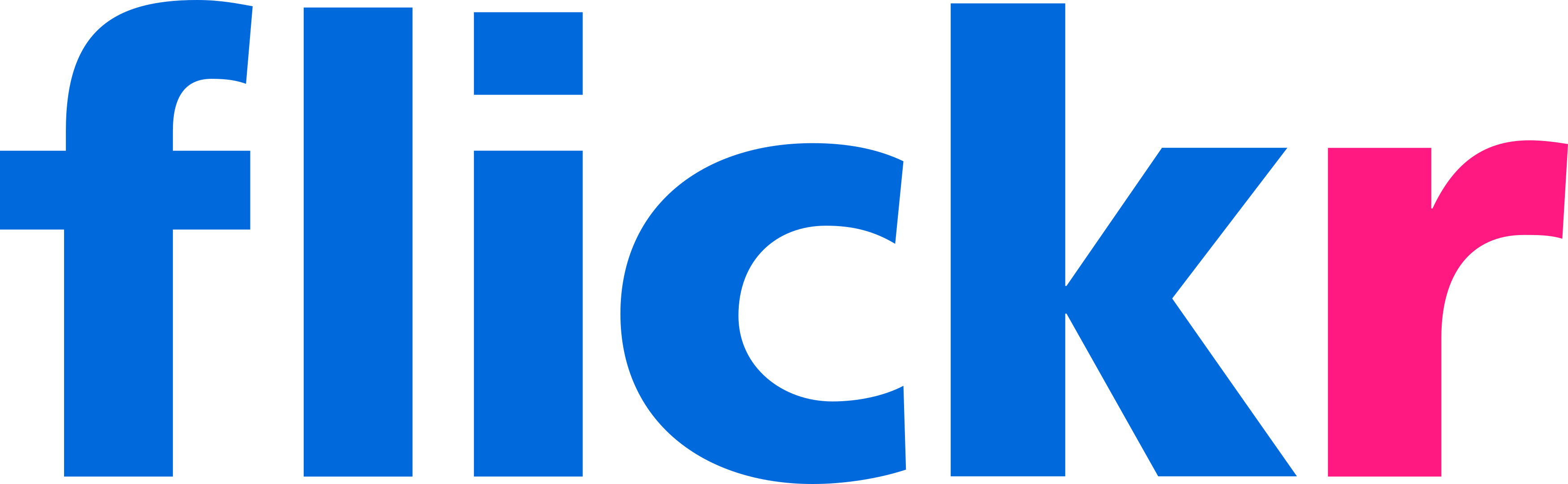 flickr logo.