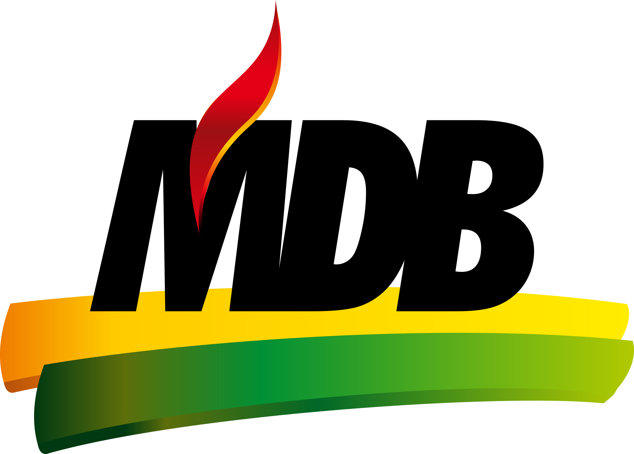 mdb logo partido 1 - MDB Logo - Movimento Democrático Brasileiro Logo