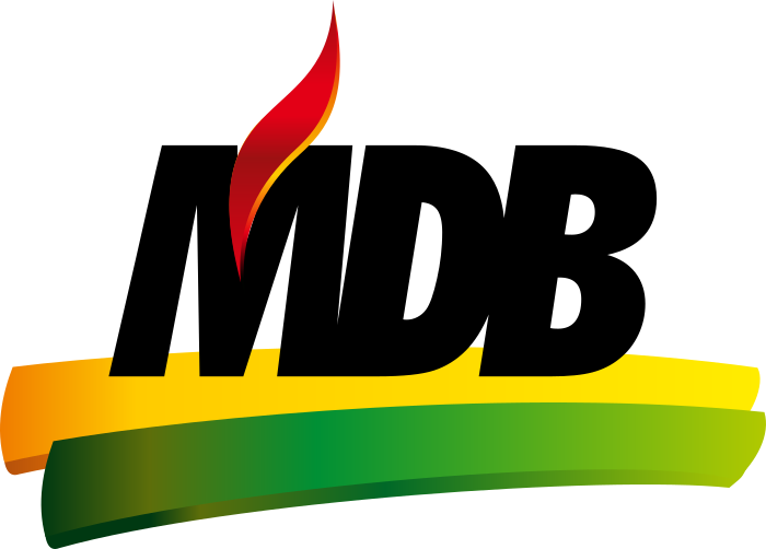 mdb logo partido 5 - MDB Logo - Movimento Democrático Brasileiro Logo