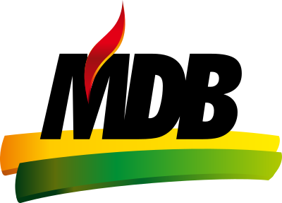 mdb logo partido 6 - MDB Logo - Movimento Democrático Brasileiro Logo