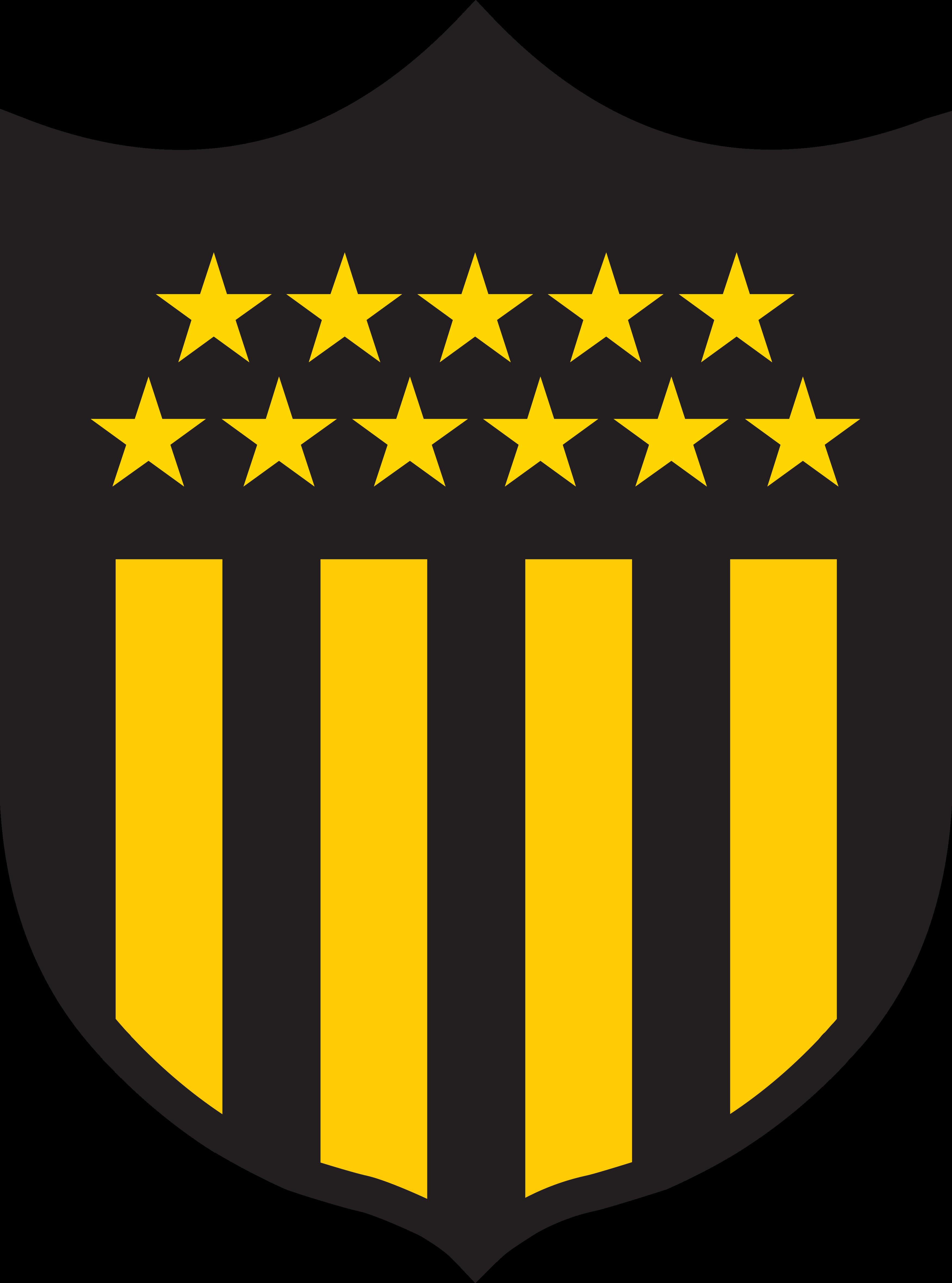 penarol logo escudo 1 - Peñarol Logo - Club Atlético Peñarol Escudo