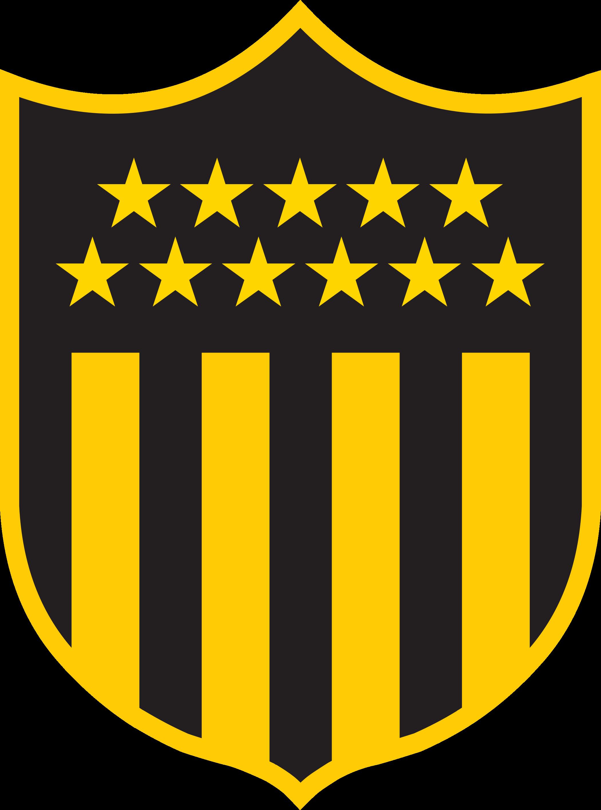 penarol logo escudo 2 - Peñarol Logo - Club Atlético Peñarol Escudo