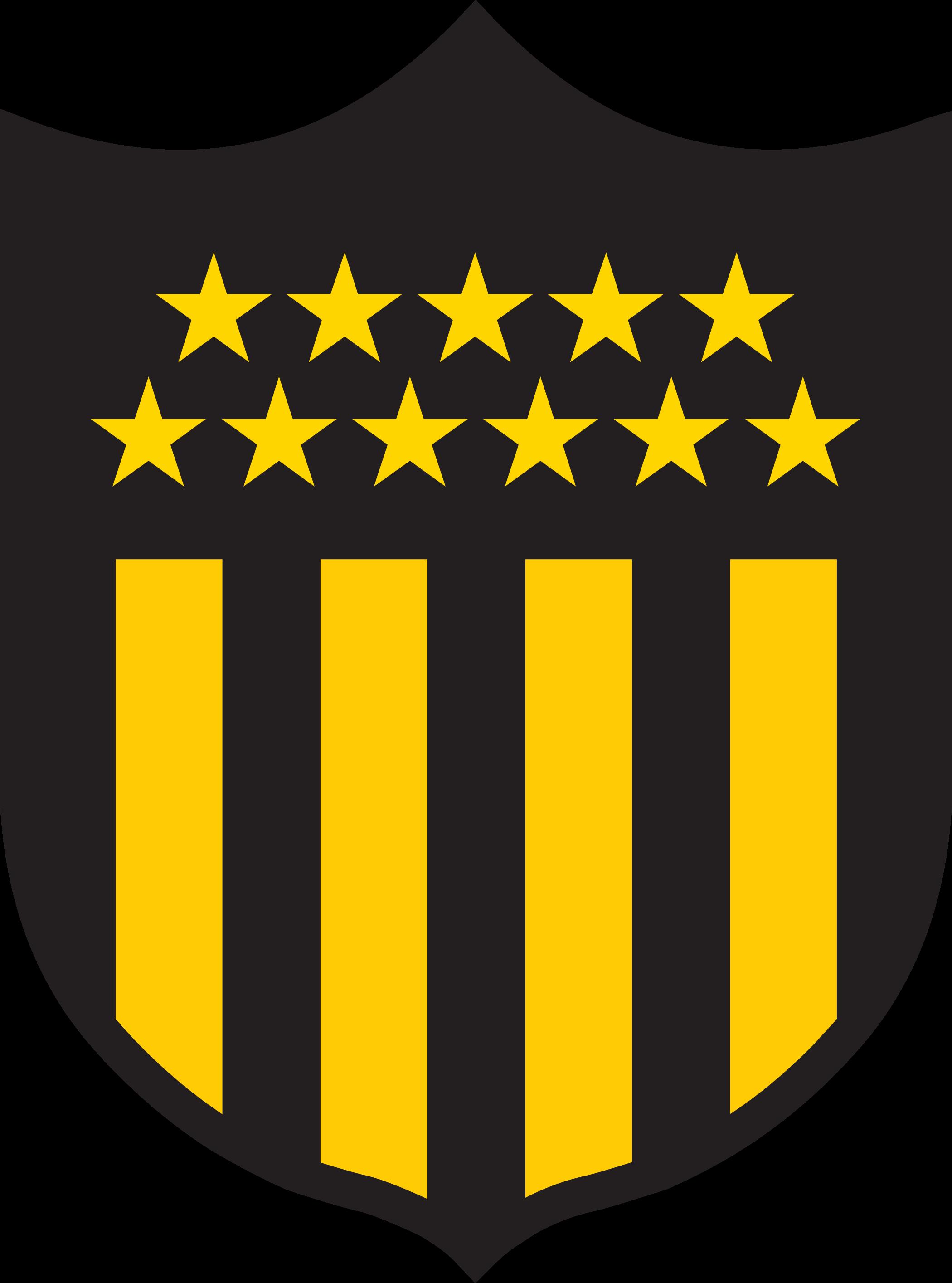 penarol logo escudo 3 - Peñarol Logo - Club Atlético Peñarol Escudo