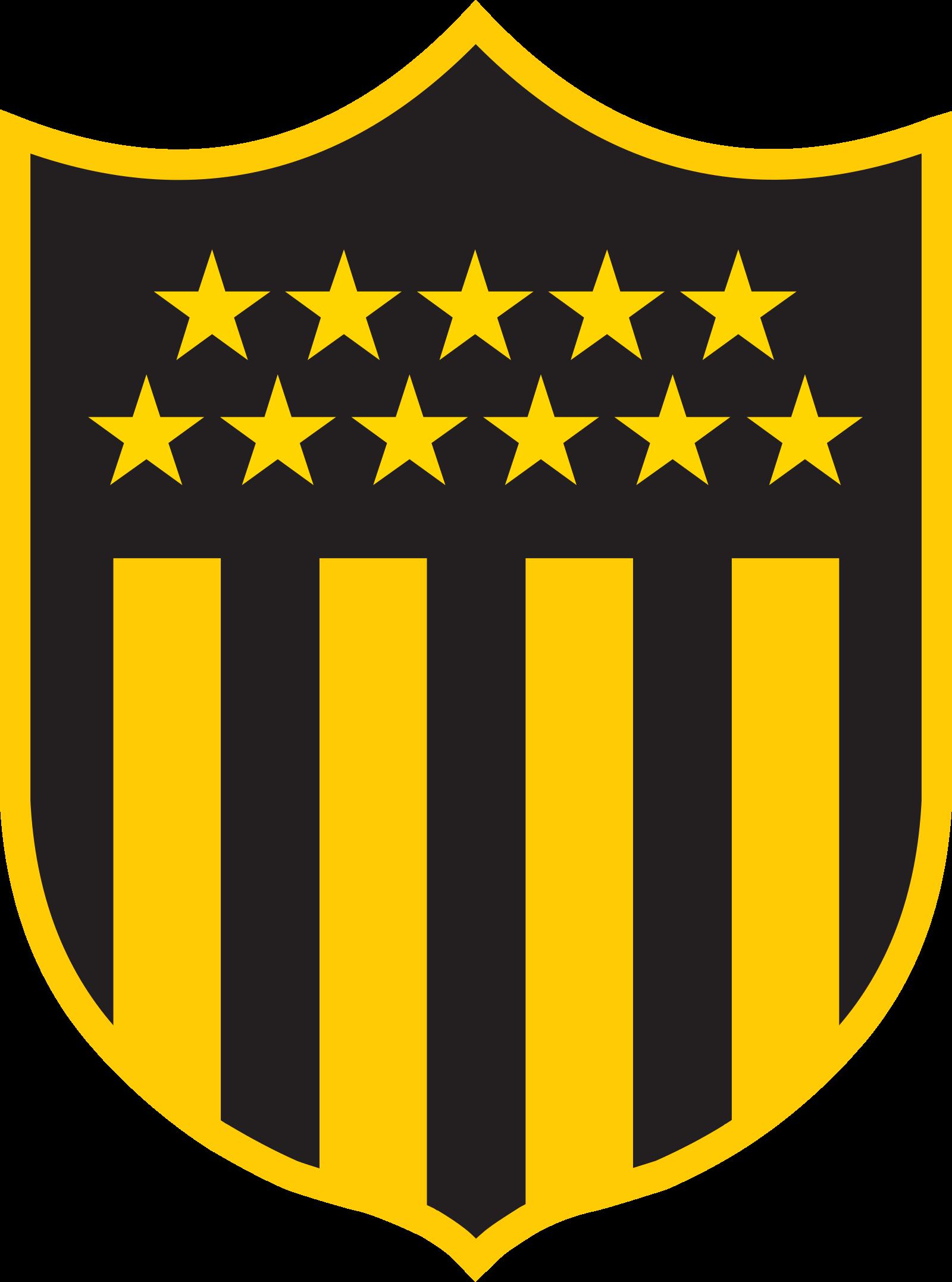 penarol logo escudo 4 - Peñarol Logo - Club Atlético Peñarol Escudo
