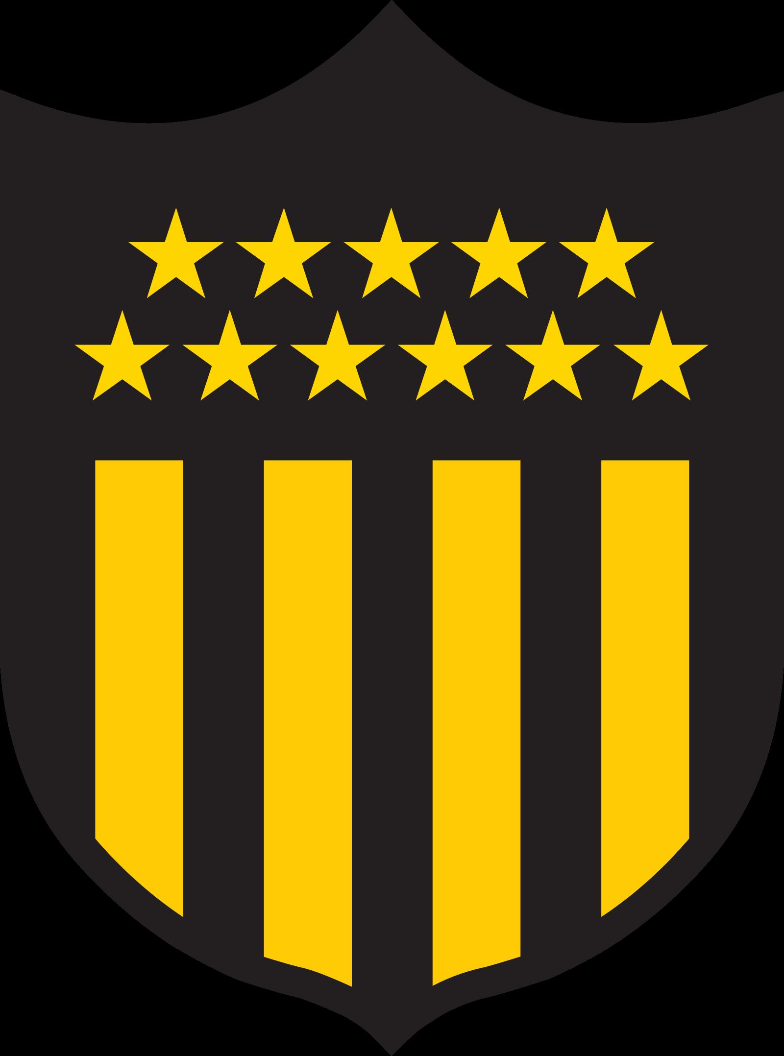 penarol logo escudo 5 - Peñarol Logo - Club Atlético Peñarol Escudo