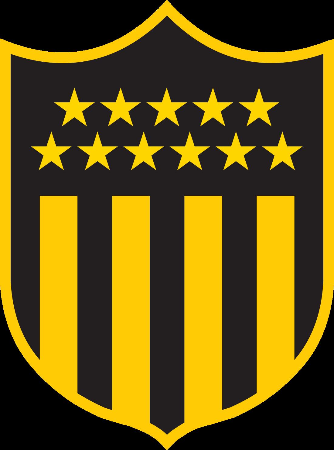 penarol logo escudo 6 - Peñarol Logo - Club Atlético Peñarol Escudo