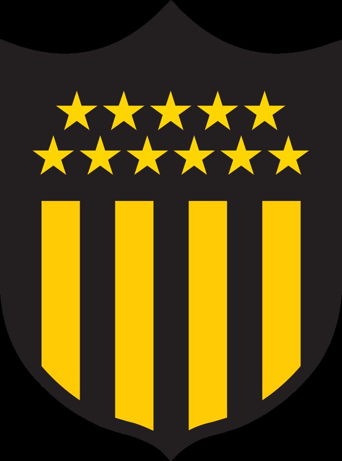 penarol logo escudo 9 - Peñarol Logo - Club Atlético Peñarol Escudo