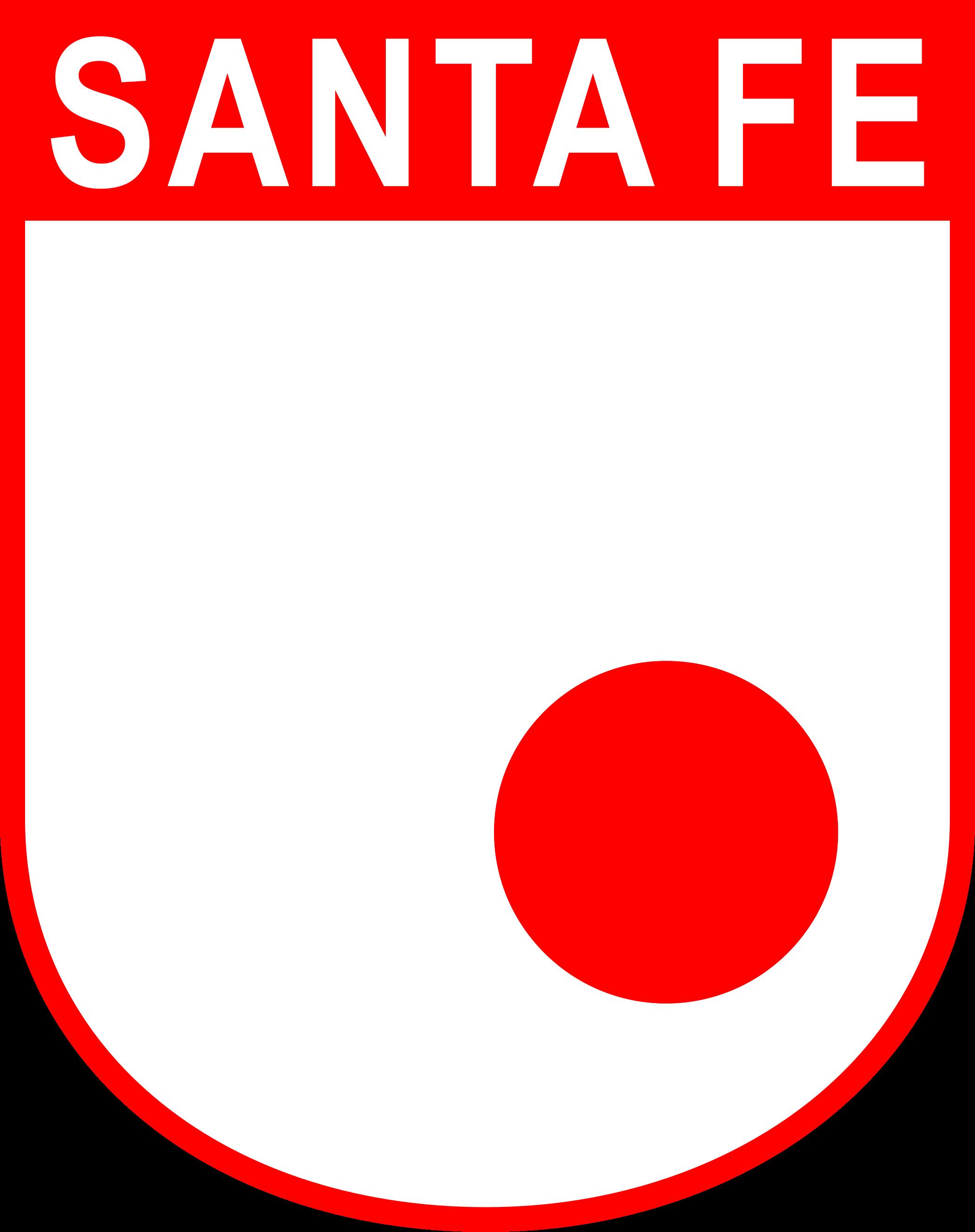 santa fe logo escudo 1 - Club Independiente Santa Fe Logo - Escudo