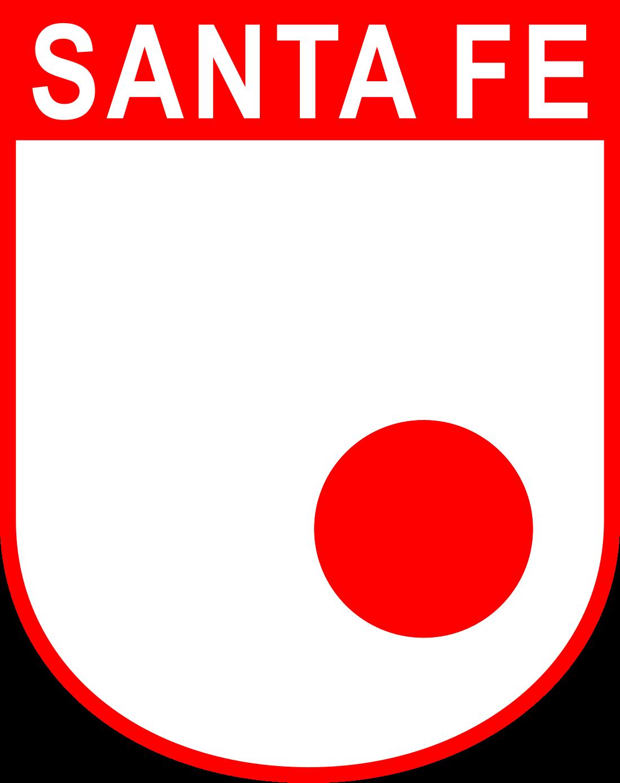 santa fe logo escudo 3 - Club Independiente Santa Fe Logo - Escudo
