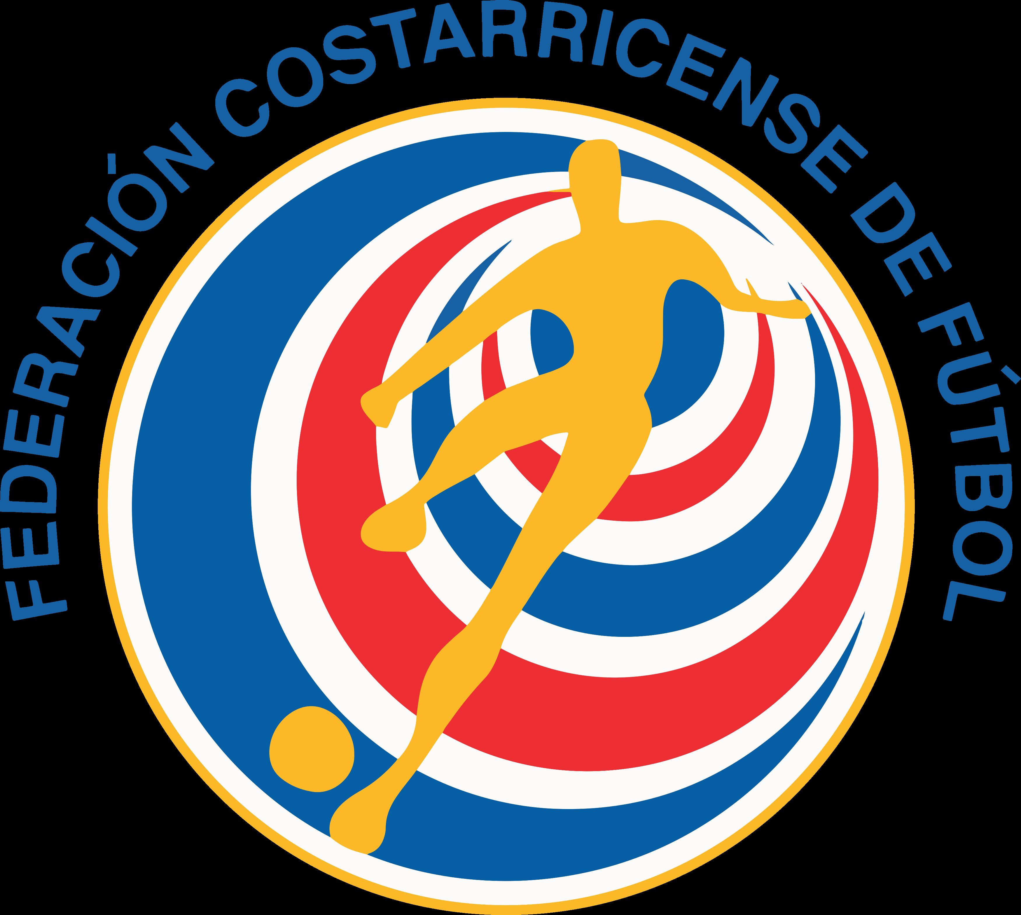 Seleção Costa Rica Futebol Logo escudo.