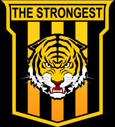 The Strongest logo, escudo.