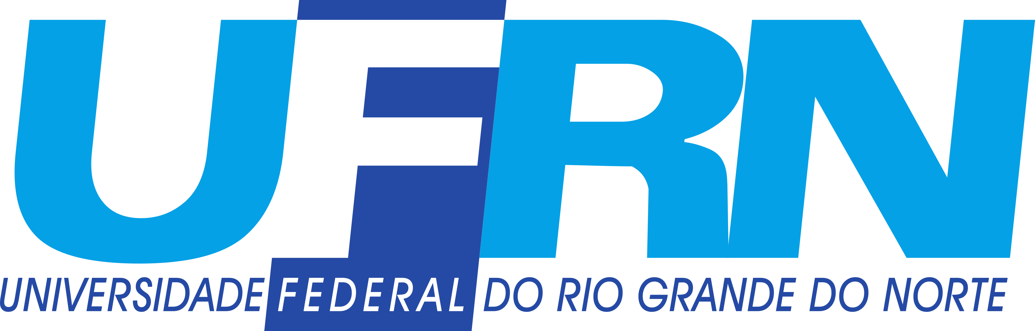 UFRN logo.