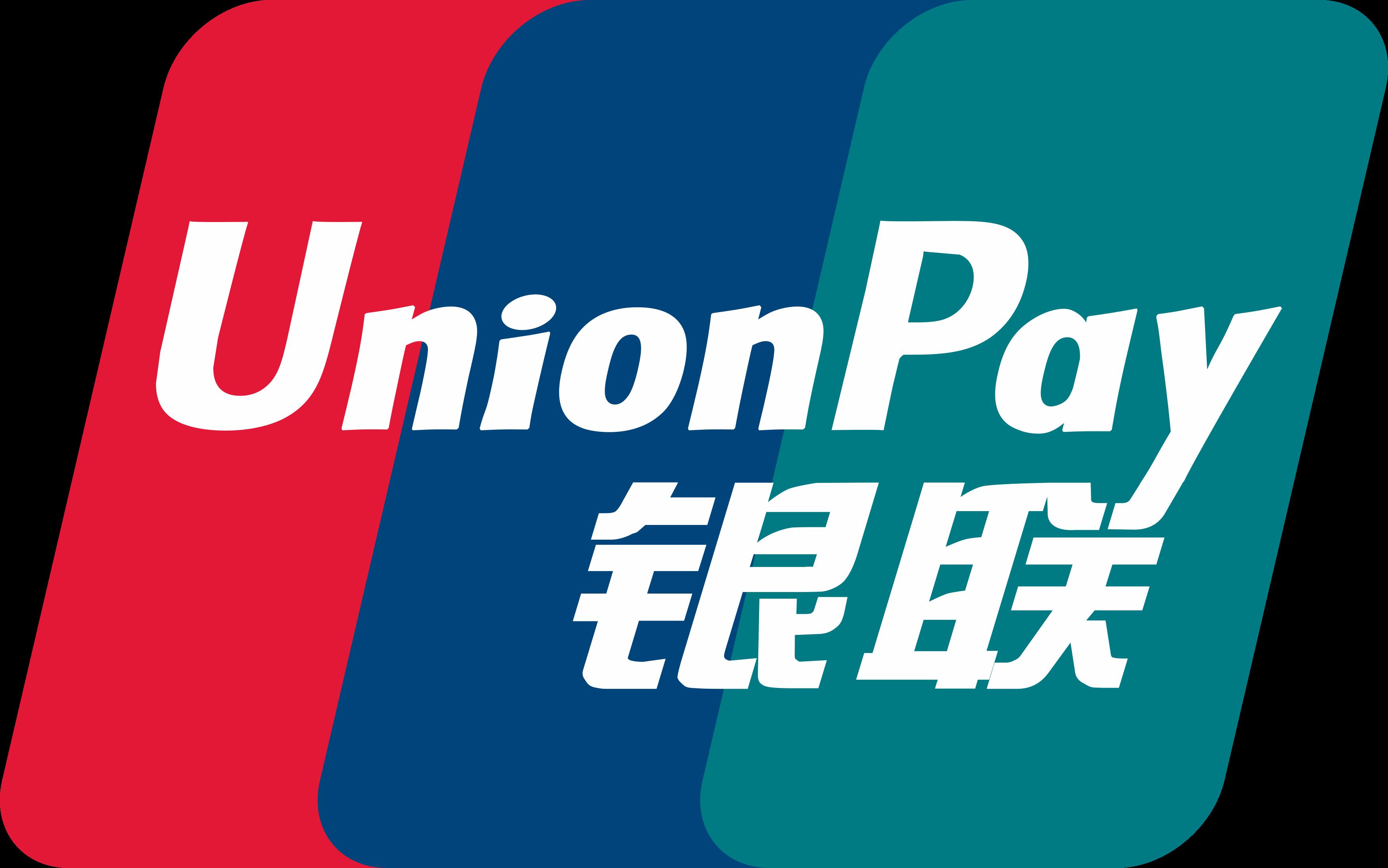 UnionPay logo.
