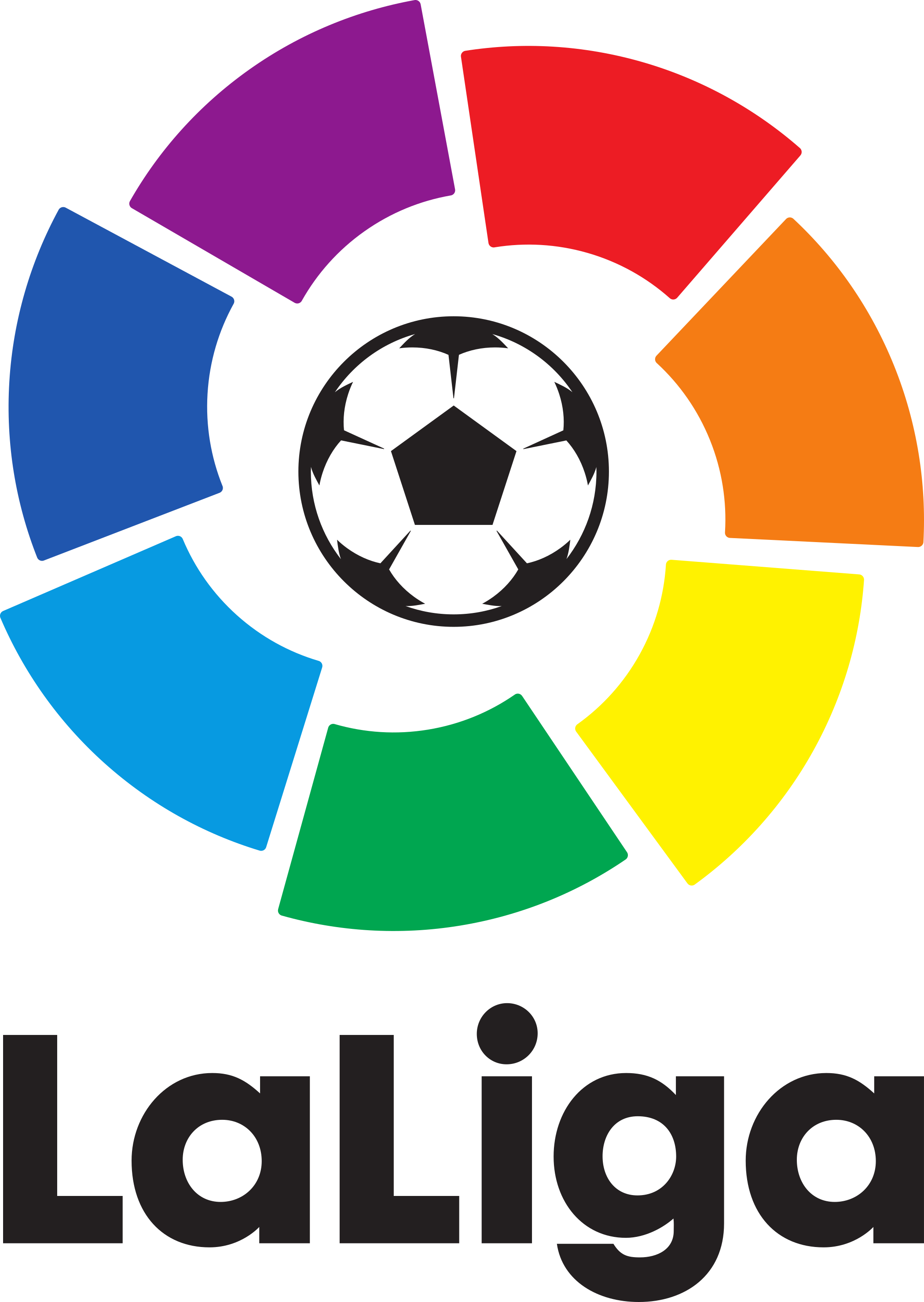 laliga logo 2 - LaLiga Logo – Campeonato Español de Fútbol
