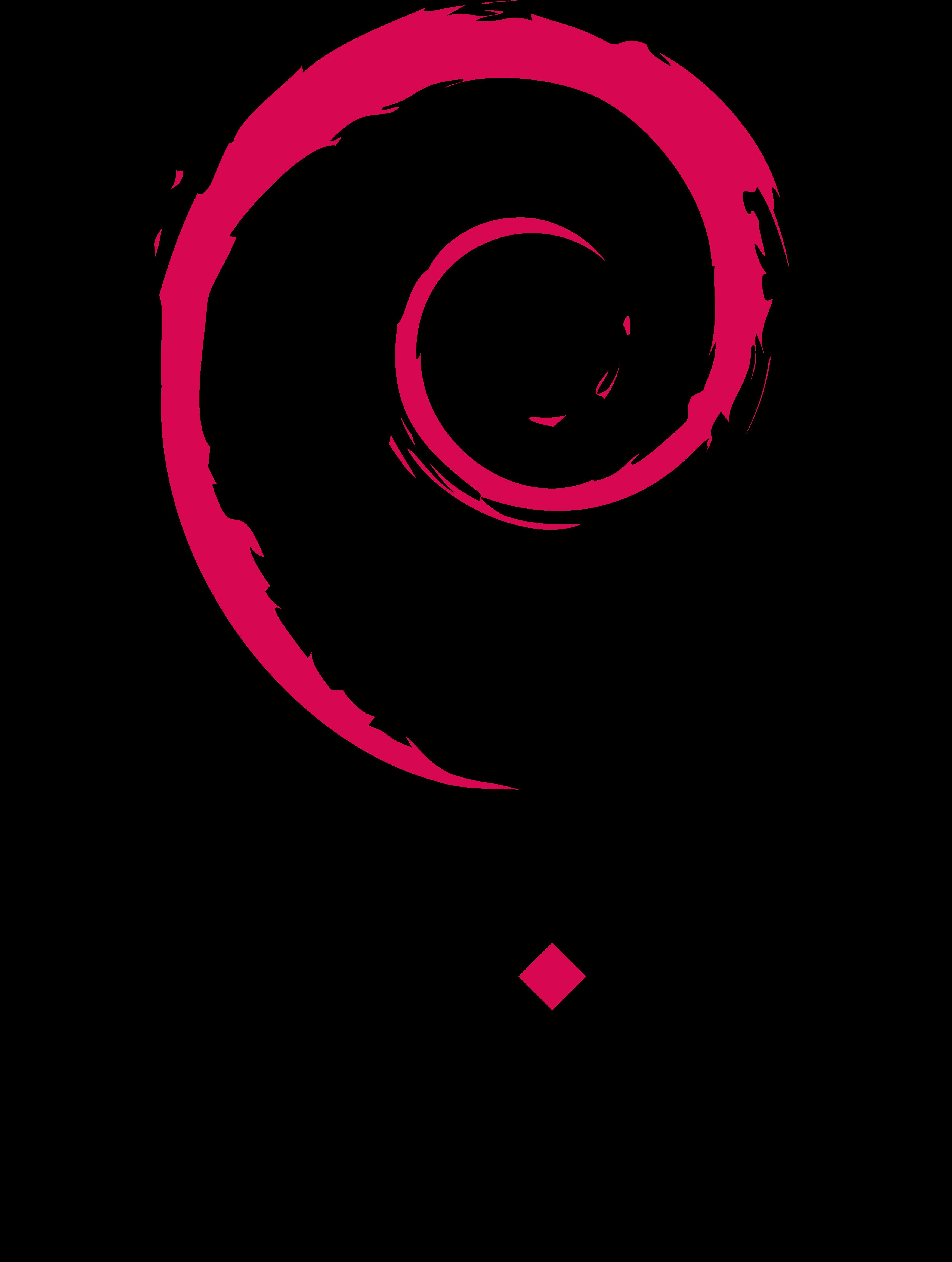 Debian Logo.