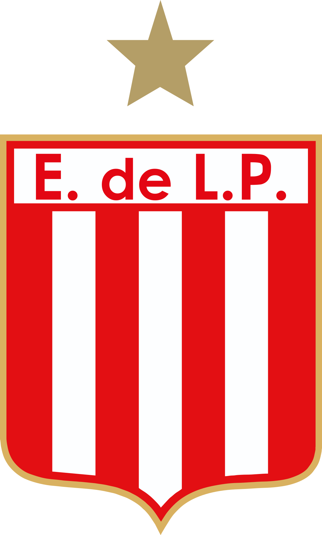 Estudiantes de La Plata Logo, Escudo.
