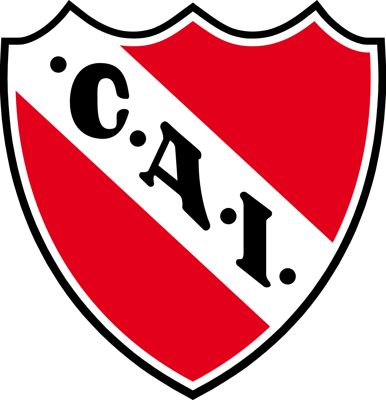 clube independiente logo escudo 2 - Club Atlético Independiente Logo