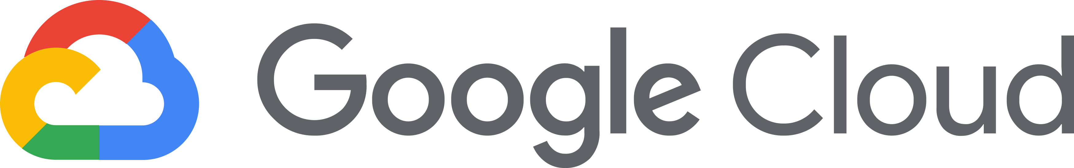 Google Cloud Logo.