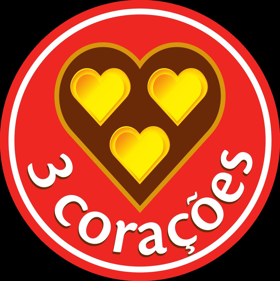 Café 3 Corações Logo.