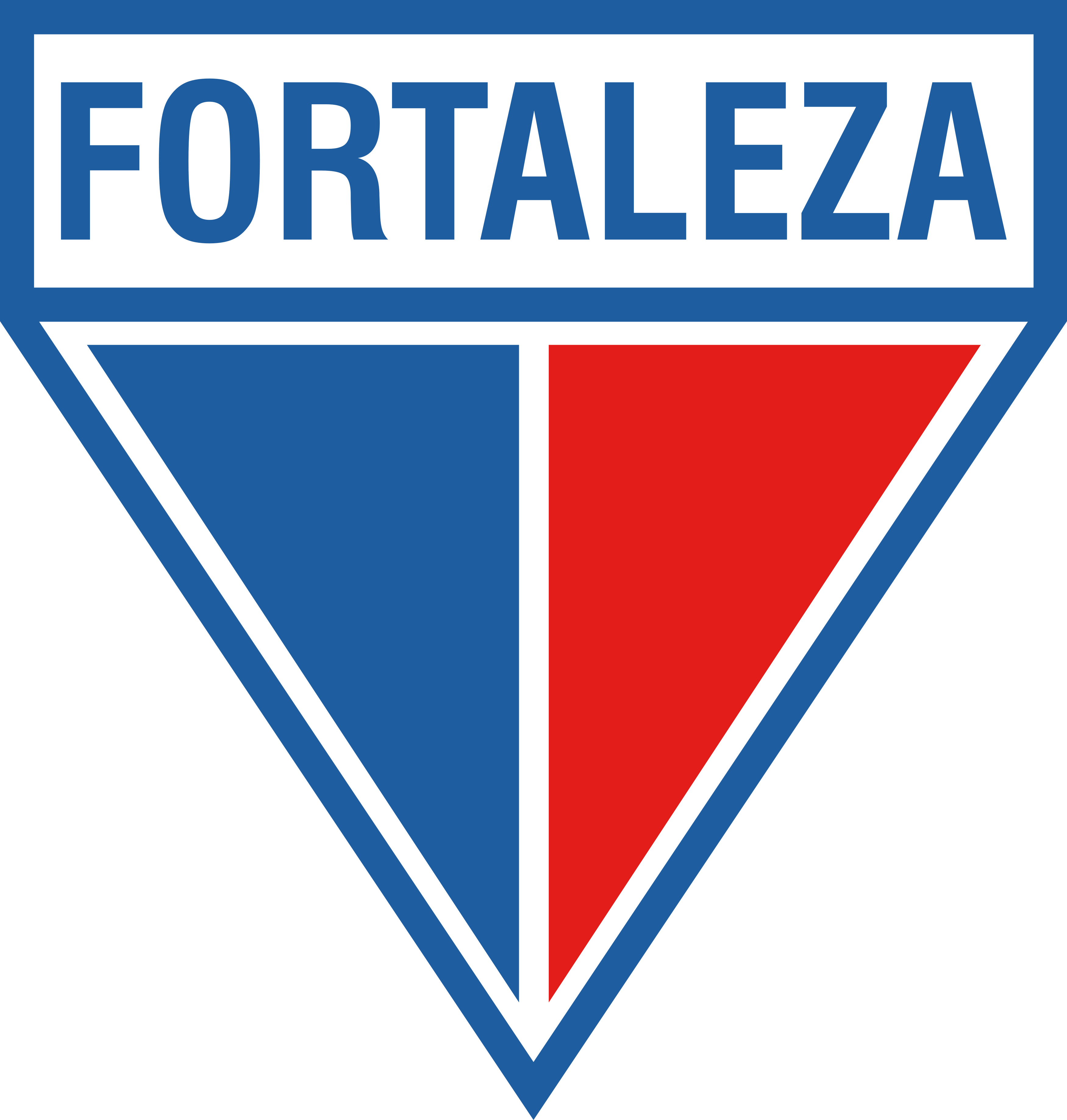 fortaleza ec logo escudo 9 - Fortaleza EC Logo