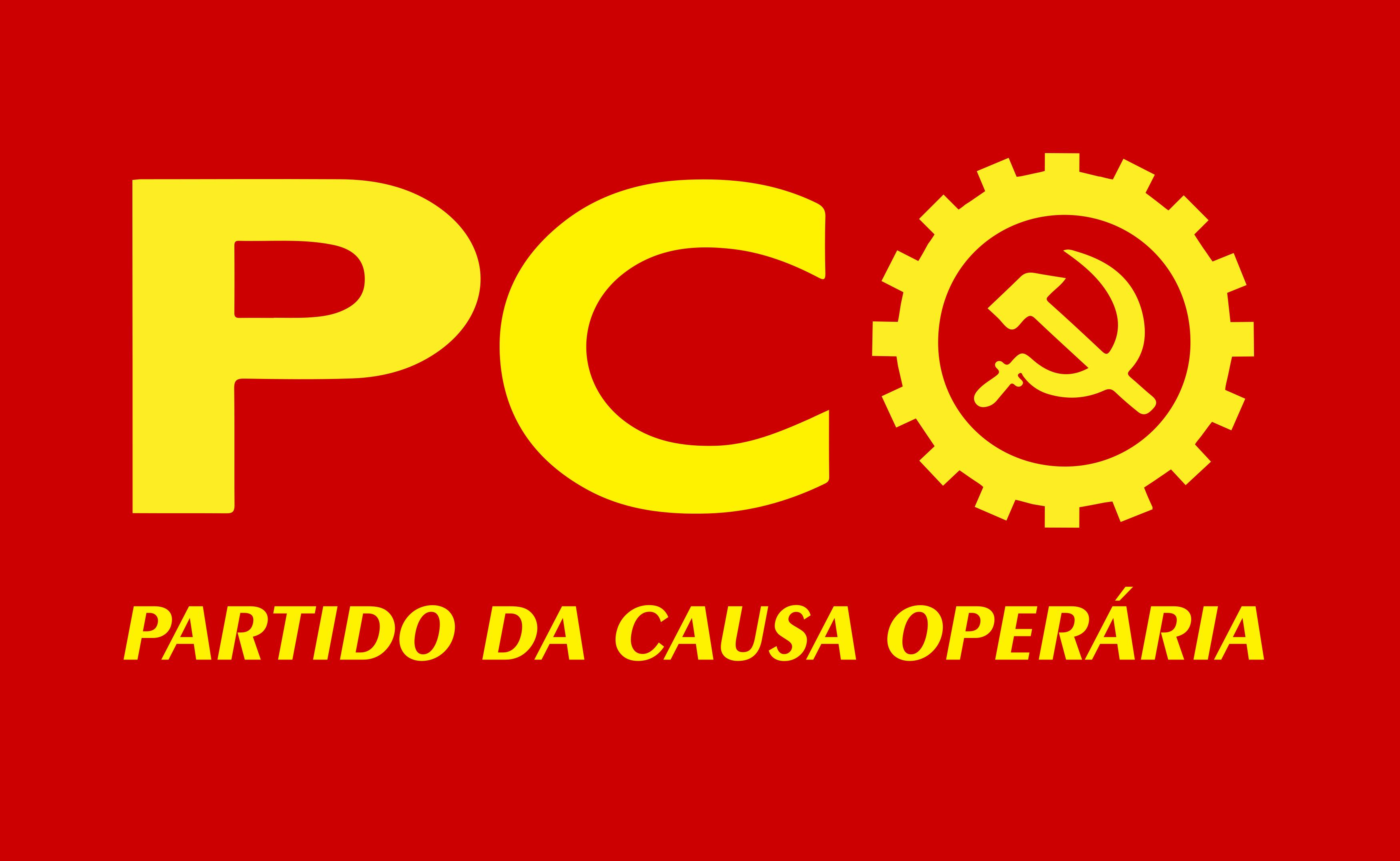 PCO Logo - Partido da Causa Operária Logo.