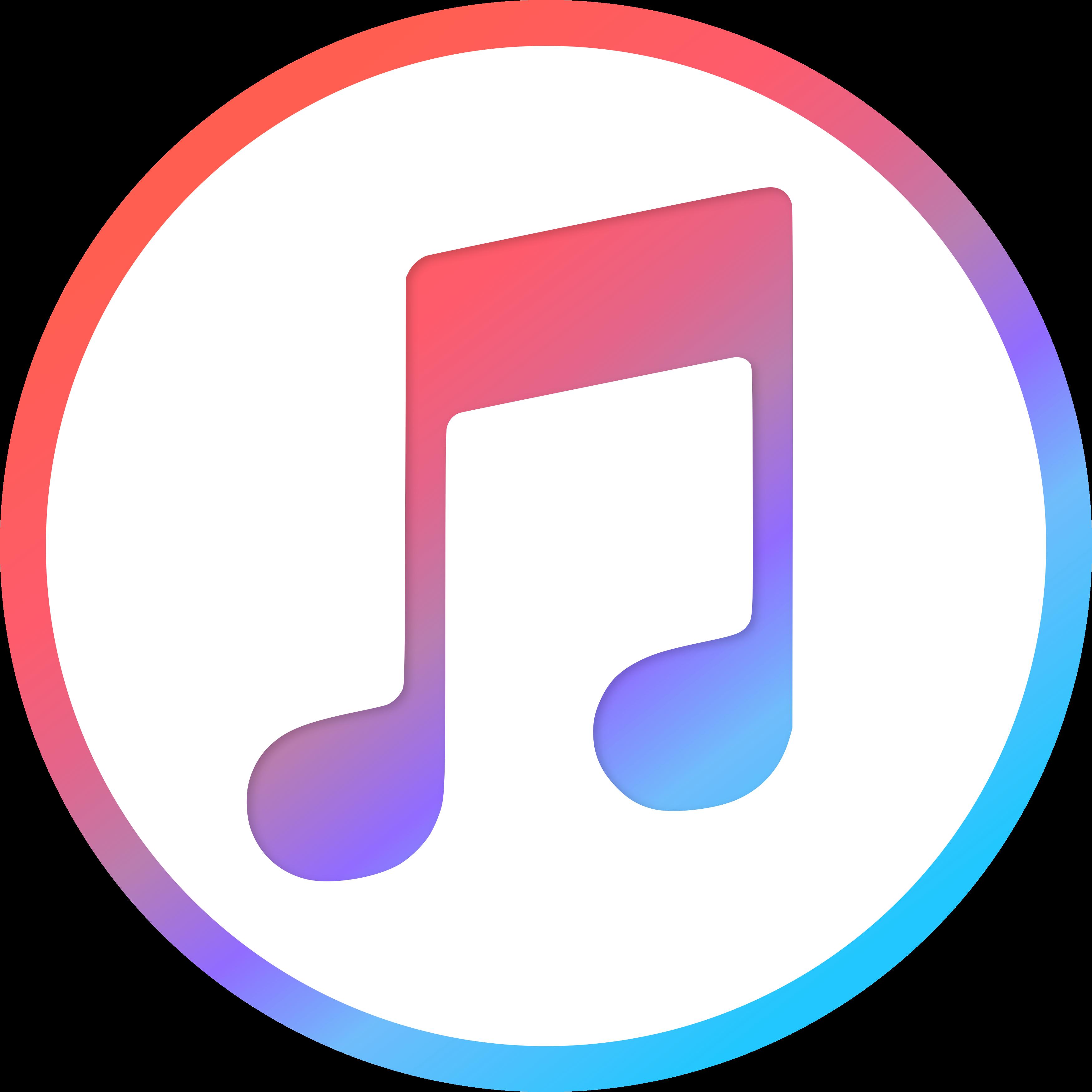 itunes logo 1 - iTunes Logo