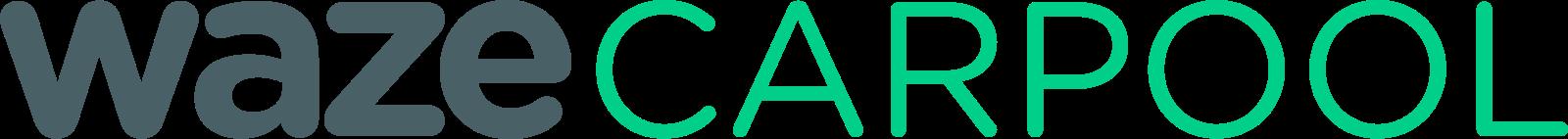 Waze carpool logo.