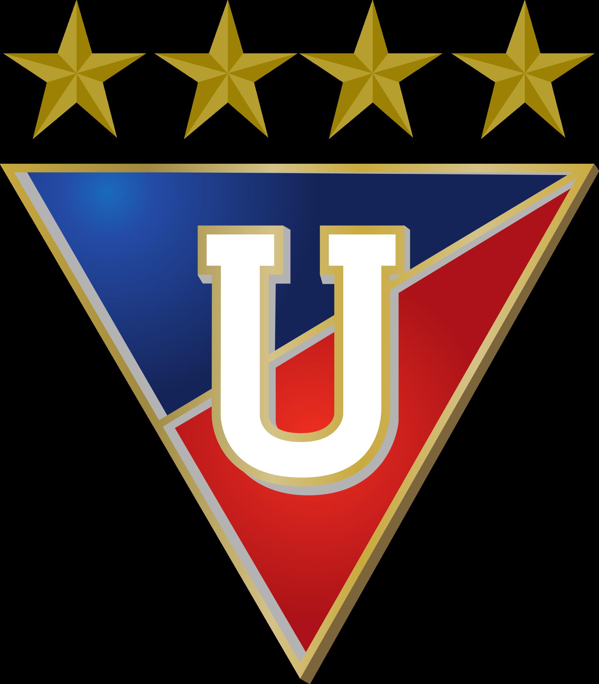 ldu logo 2 - LDU Logo - Liga Deportiva Universitaria de Quito Escudo