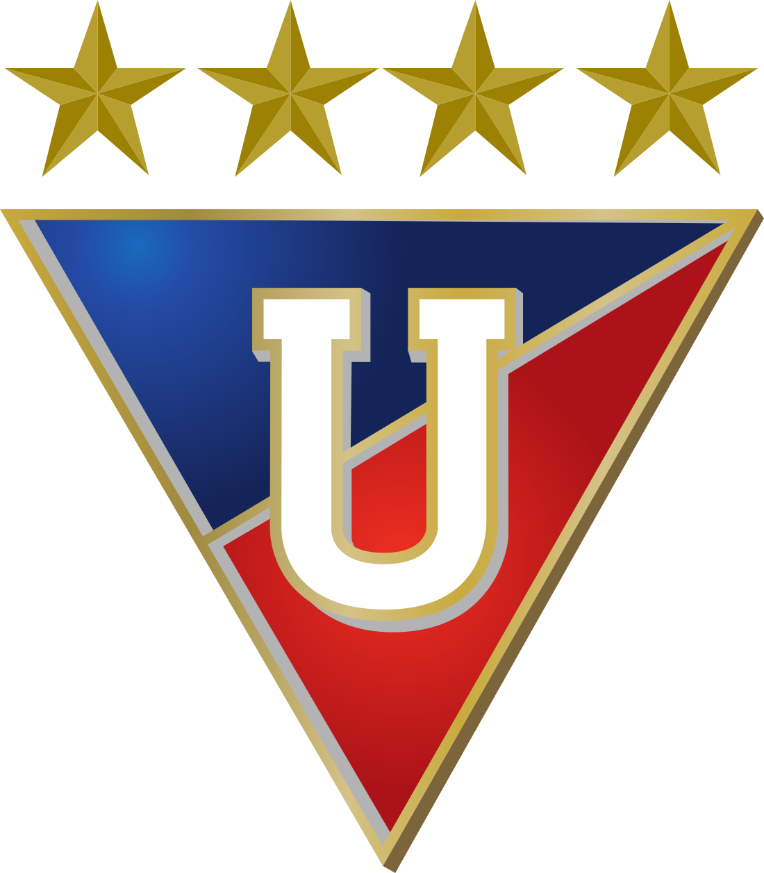 ldu logo 6 - LDU Logo - Liga Deportiva Universitaria de Quito Escudo