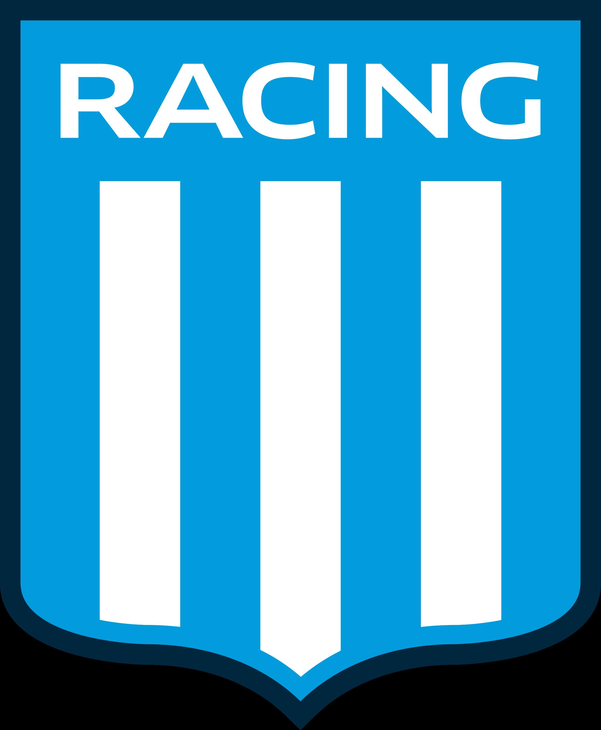 racing logo escudo 1 - Racing Logo - Racing Club de Avellaneda Escudo